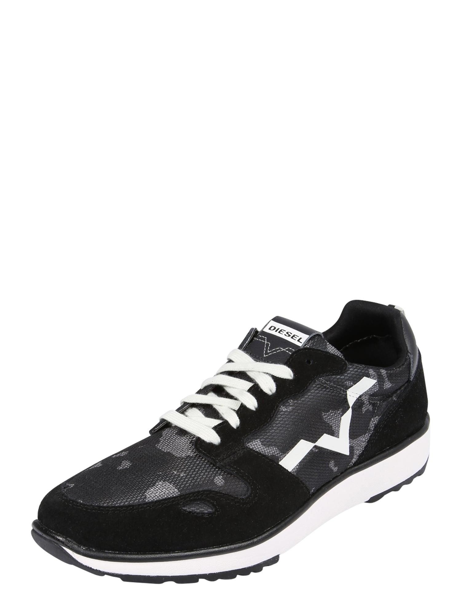 DIESEL Heren Sneakers laag CORTT RV zwart