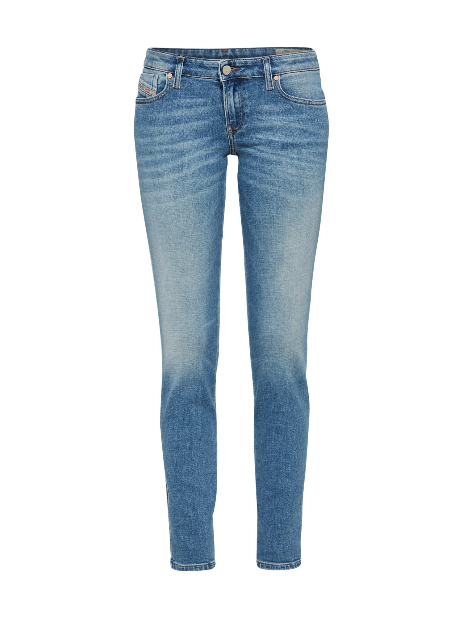 DIESEL Dames Jeans Gracey Skinny Jeans 084GL blauw denim