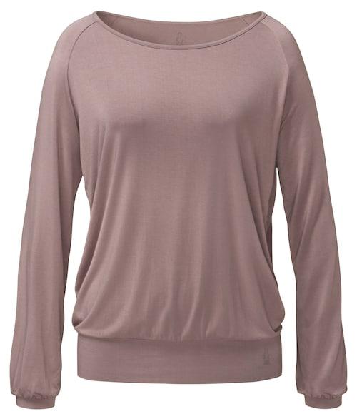 Yogi-raglan-shirt Longsleeve - Nougat