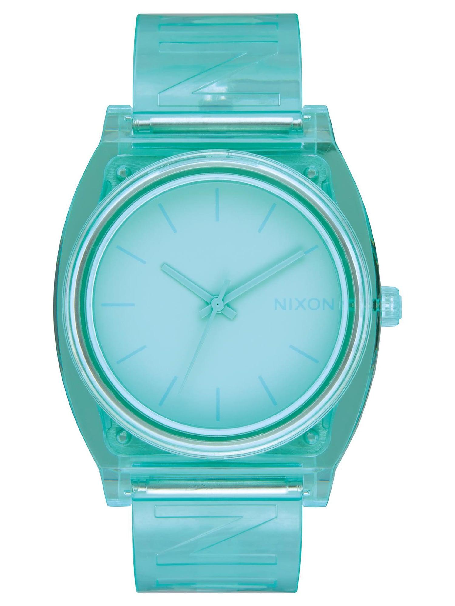 Analogové hodinky Time Teller Summer mátová Nixon
