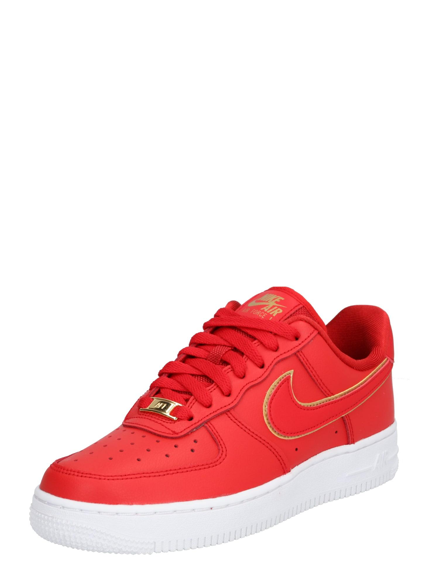 Nike Sportswear Tenisky 'Air Force 1 '07 Essential'  červená