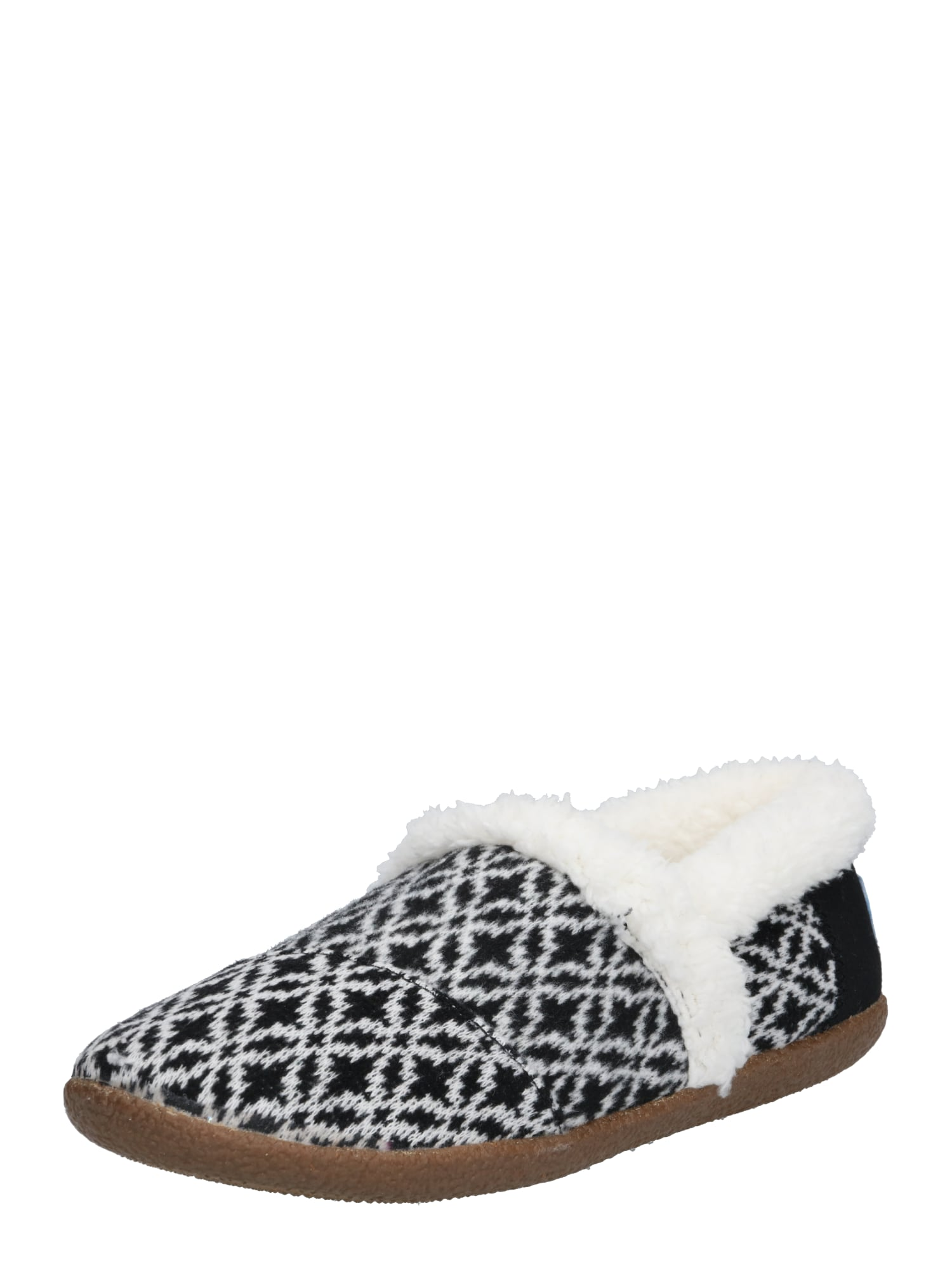 Pantofle černá bílá TOMS