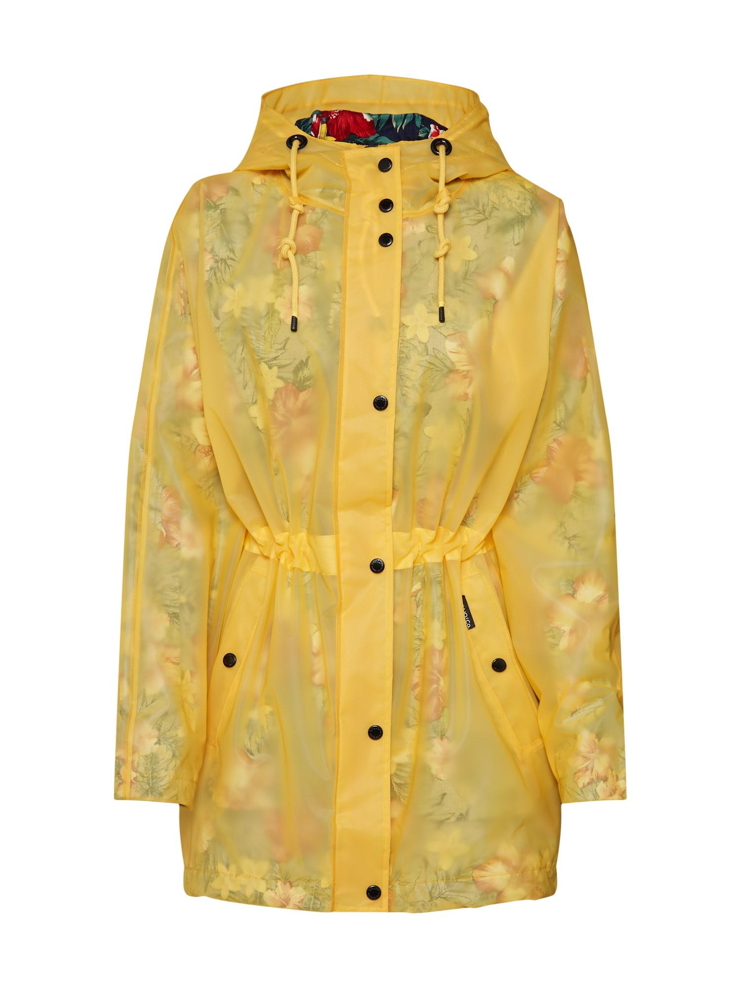 Funkční kabát Iracema žlutá Khujo