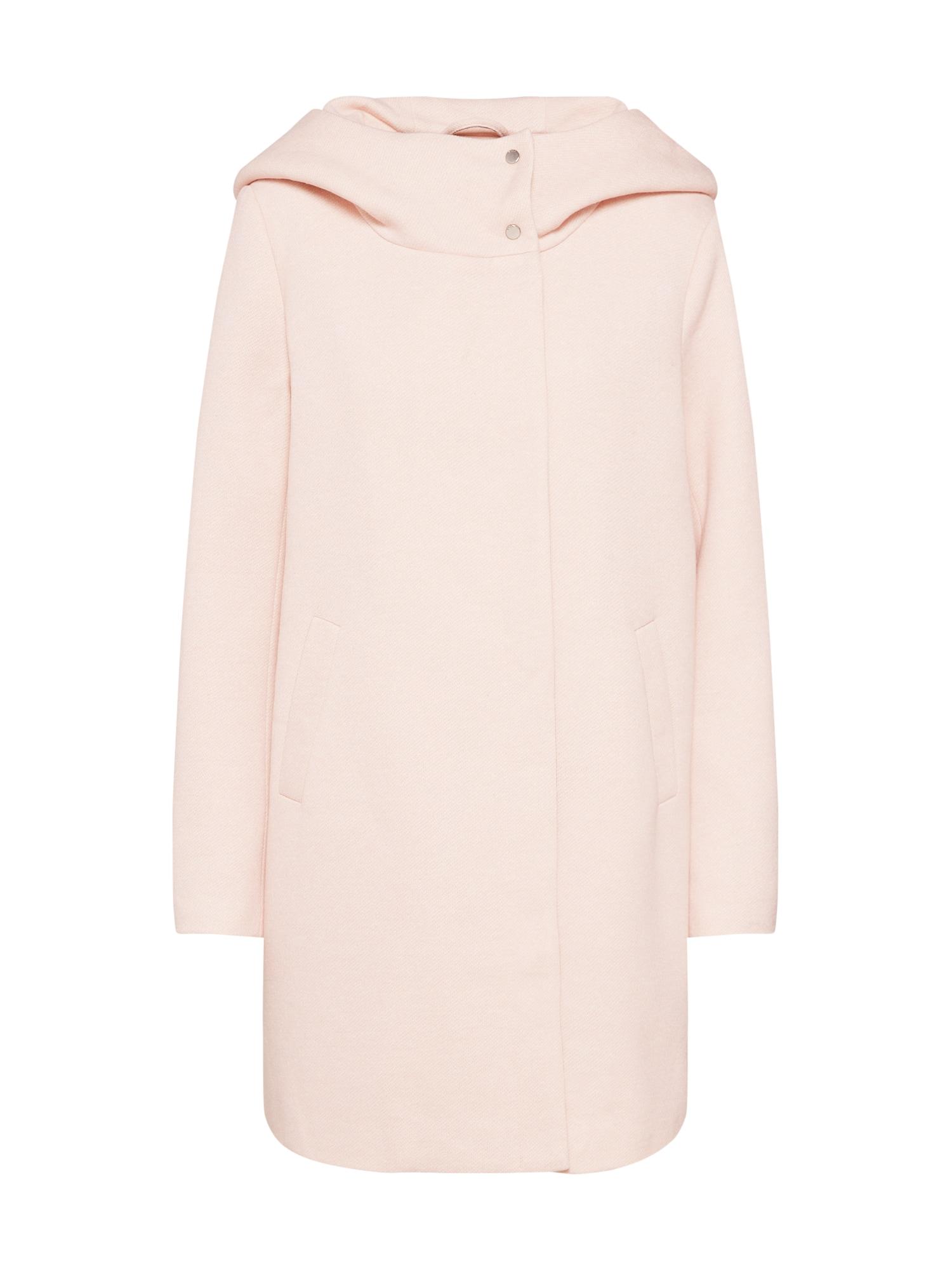 Přechodný kabát MADDIE růžová ONLY