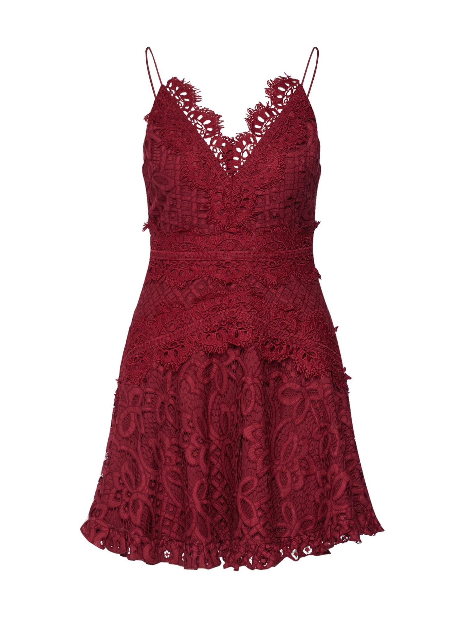 Love Triangle Koktejlové šaty 'Passion Pop Dress'  bordó
