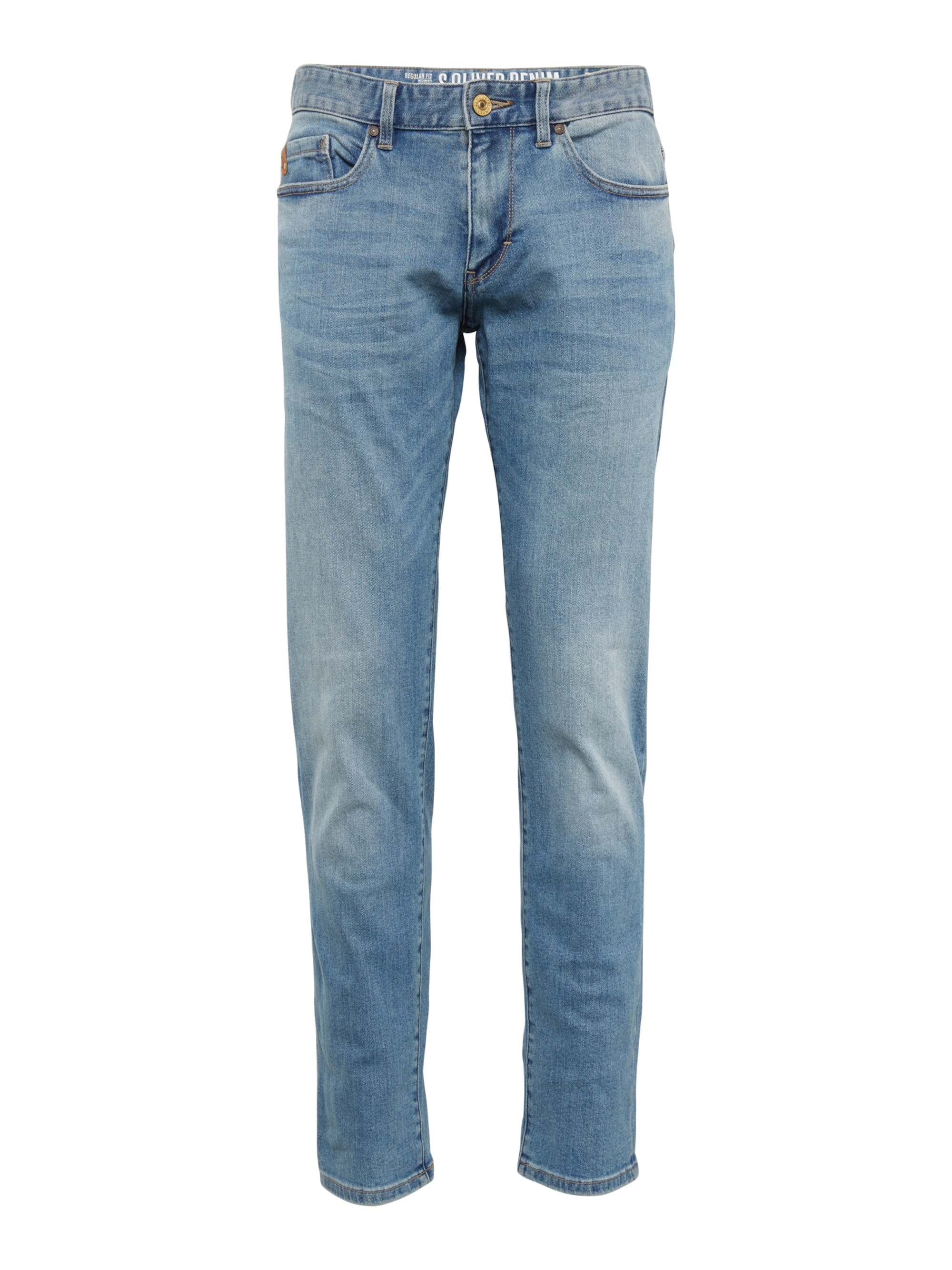 Jeans im Used-Style