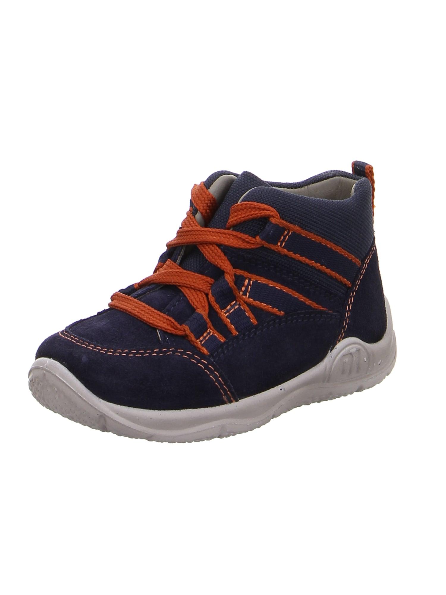 Botičky pro první krůčky modrá oranžová SUPERFIT