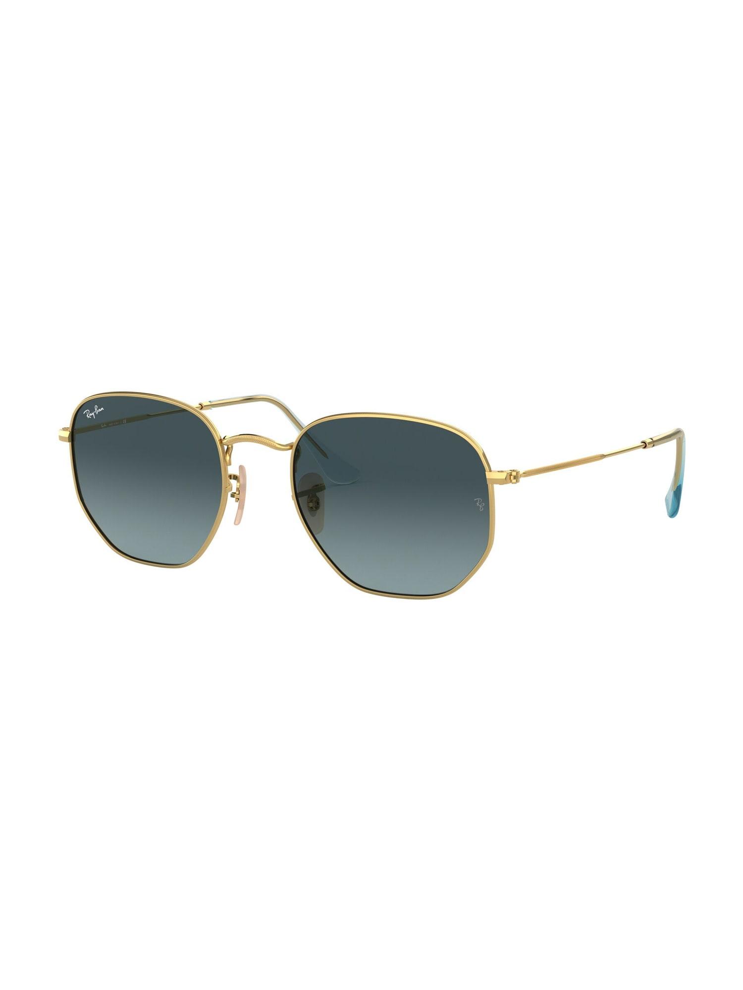 Ray-Ban Sluneční brýle 'HEXAGONAL'  zlatá / modrá