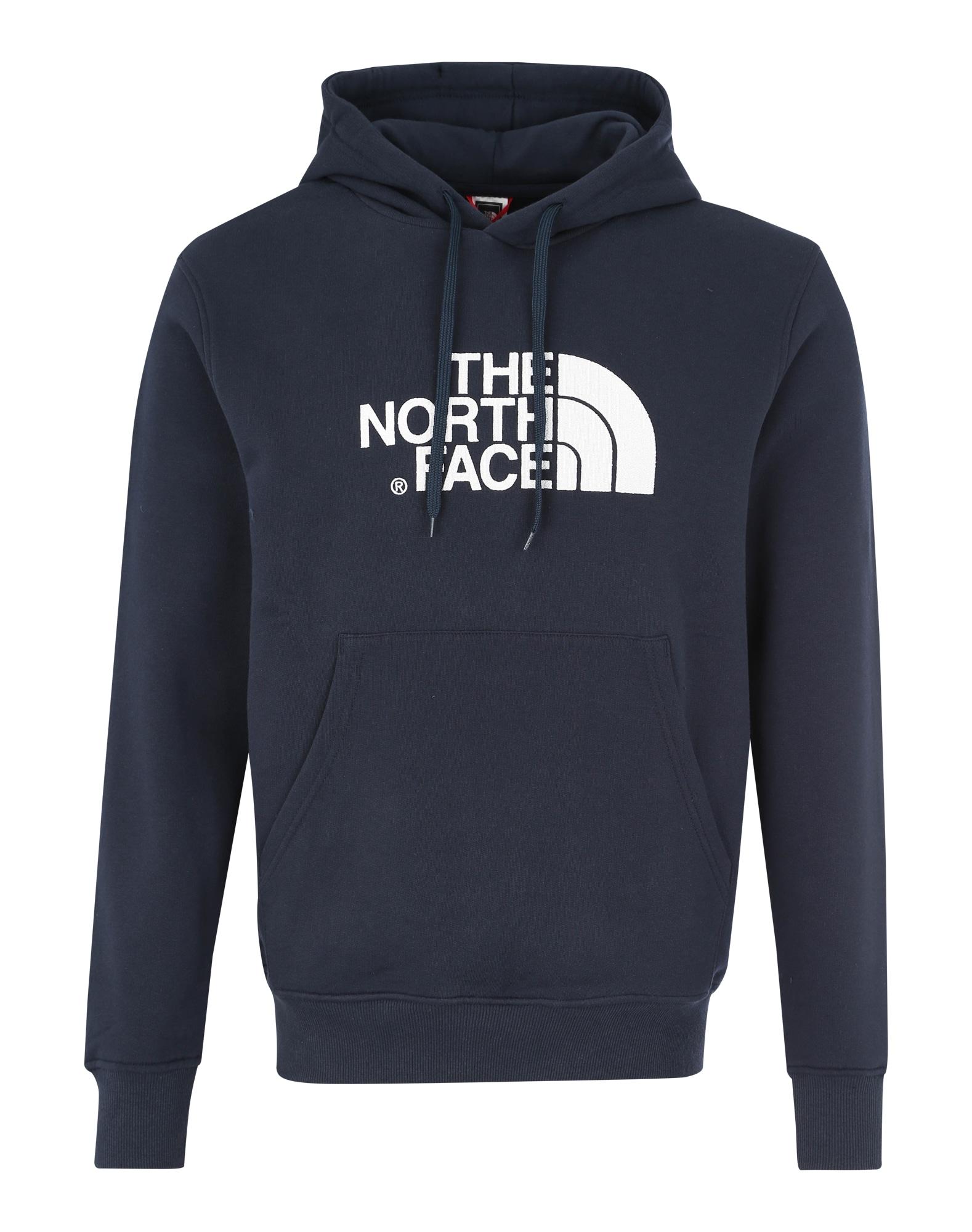 THE NORTH FACE Heren Sweatshirt donkerblauw wit