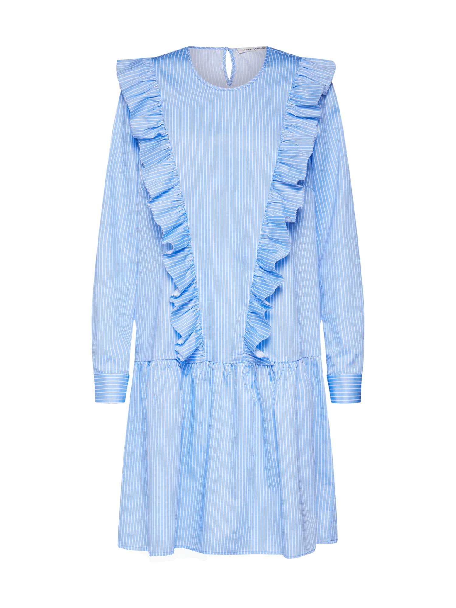 Letní šaty S191256 modrá Sofie Schnoor
