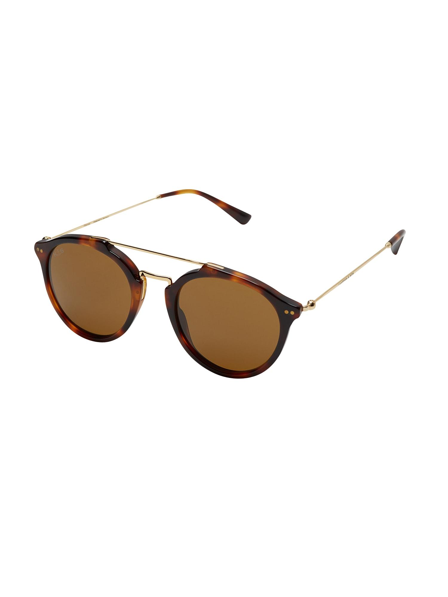 Sluneční brýle Fitzroy hnědá Kapten & Son