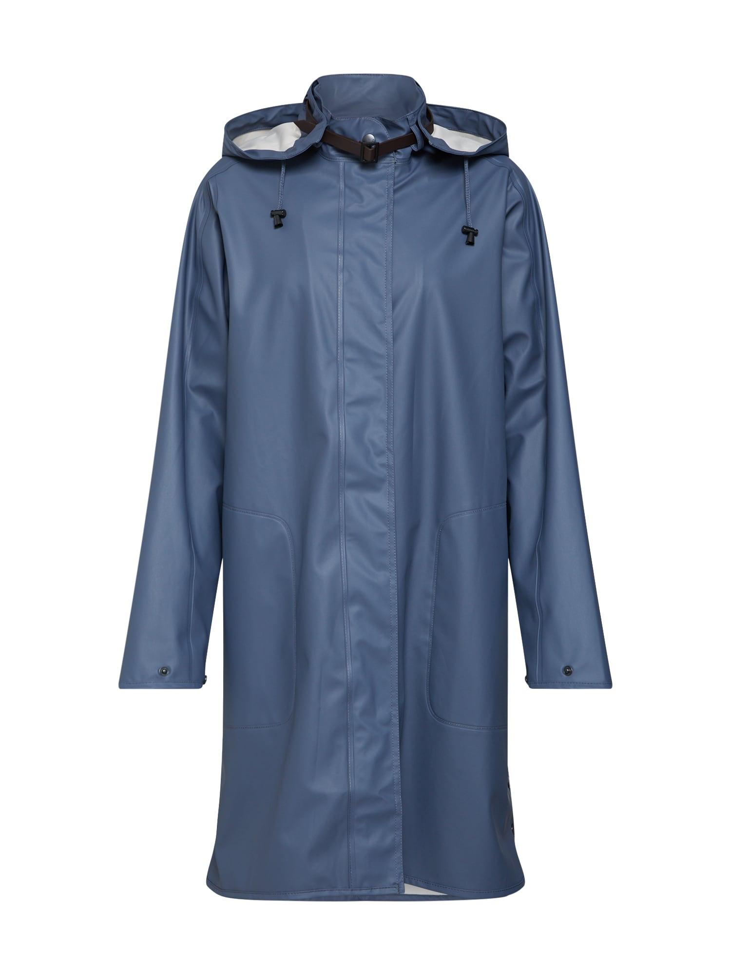 ILSE JACOBSEN Přechodný kabát  nebeská modř