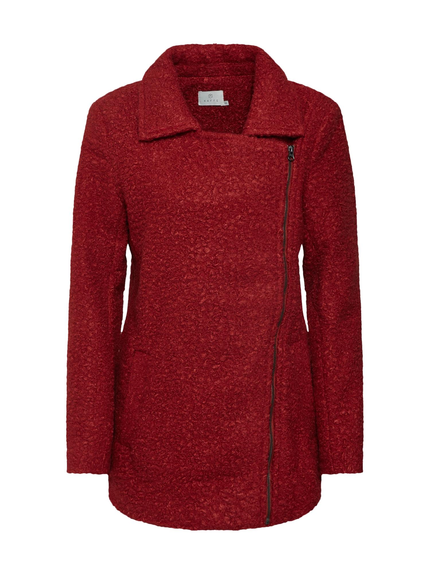 Zimní kabát Lulu merlot Kaffe