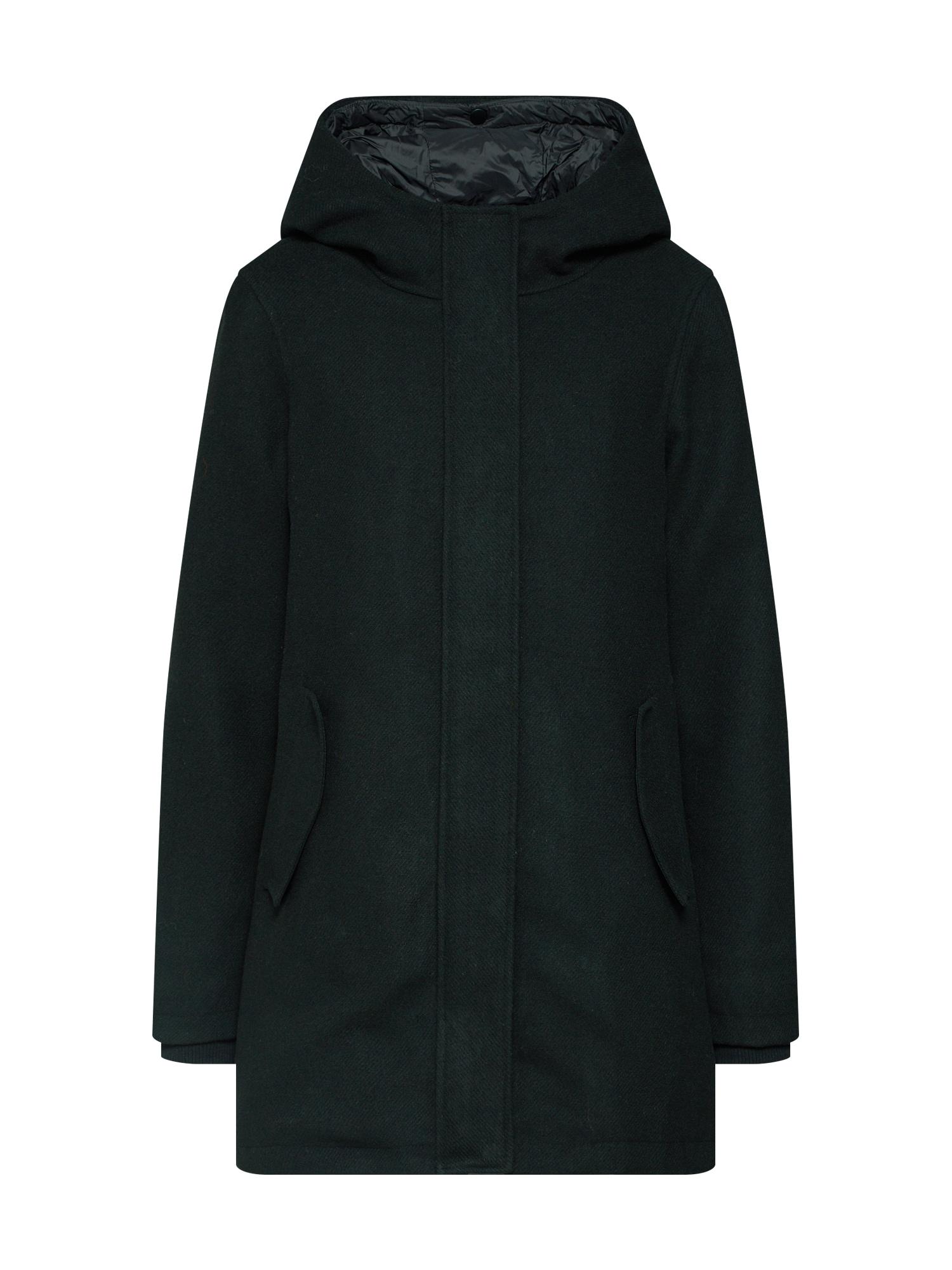 Zimní kabát TWO IN ONE černá Review