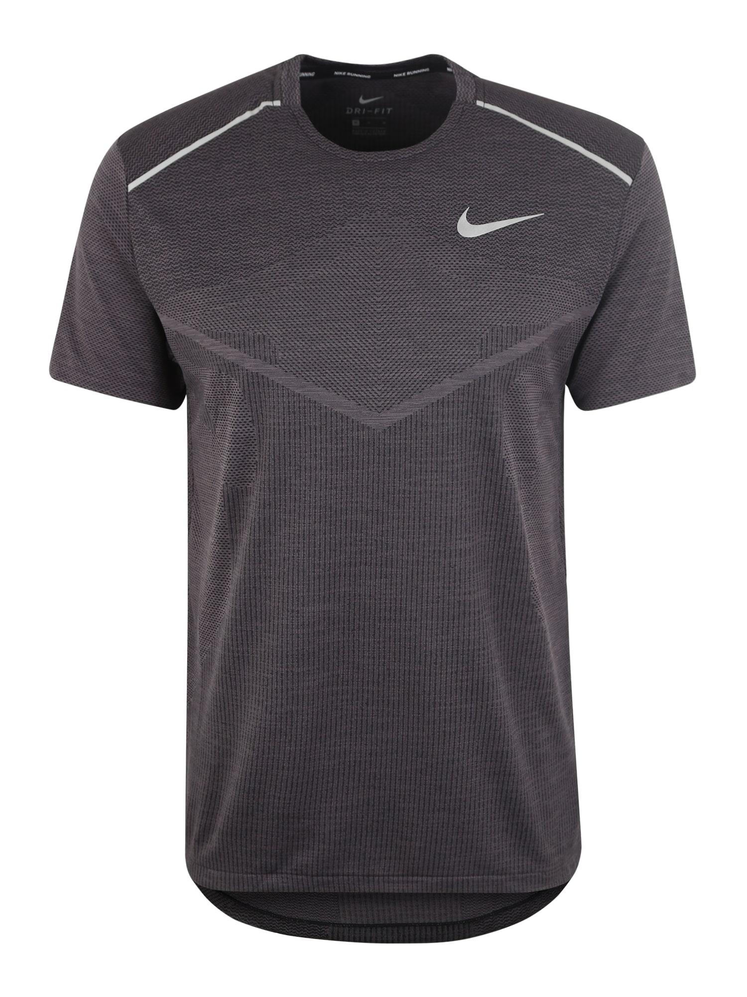 Funkční tričko TECHKNIT černá NIKE