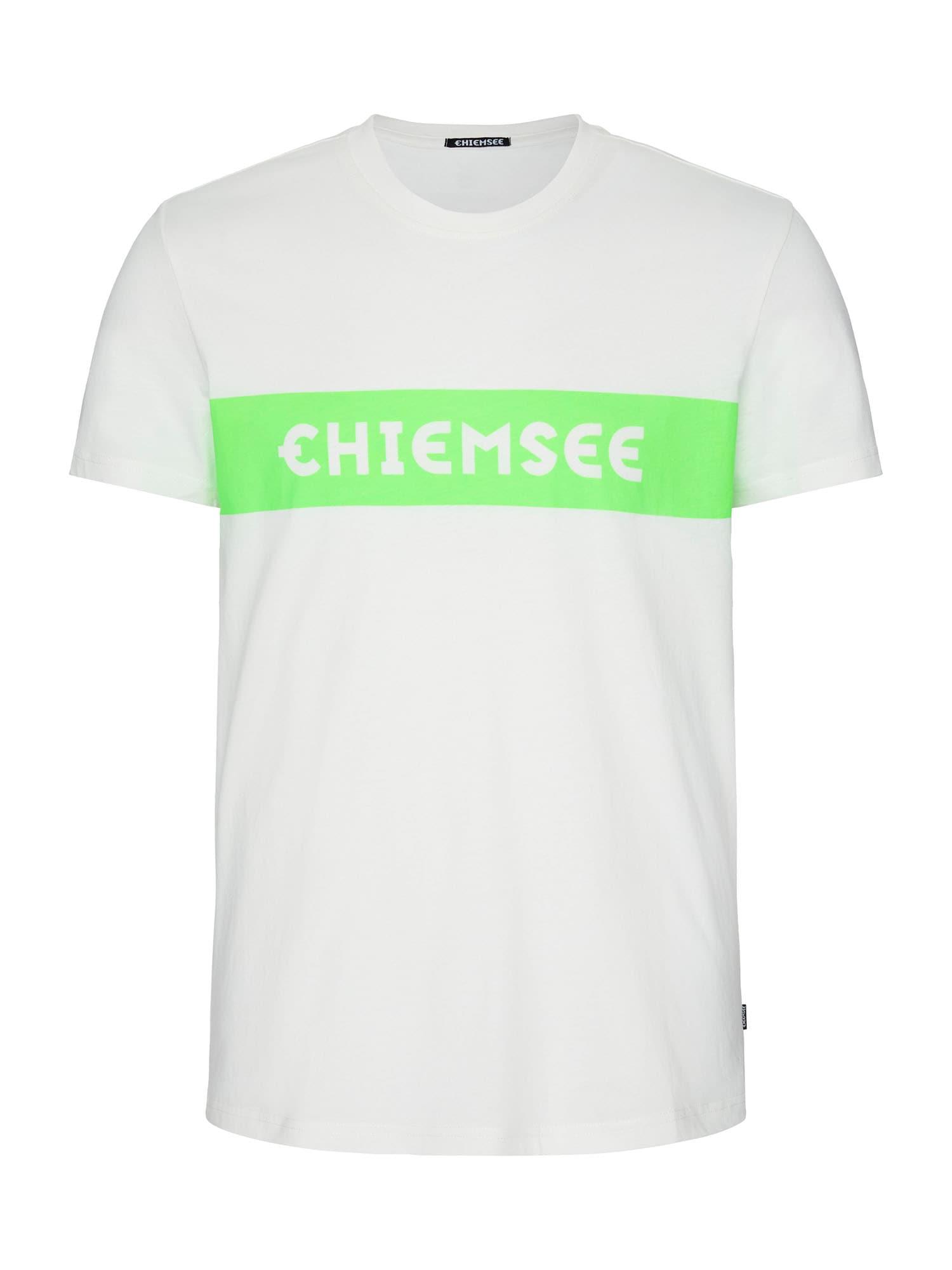 CHIEMSEE Funkční tričko  bílá / zelená