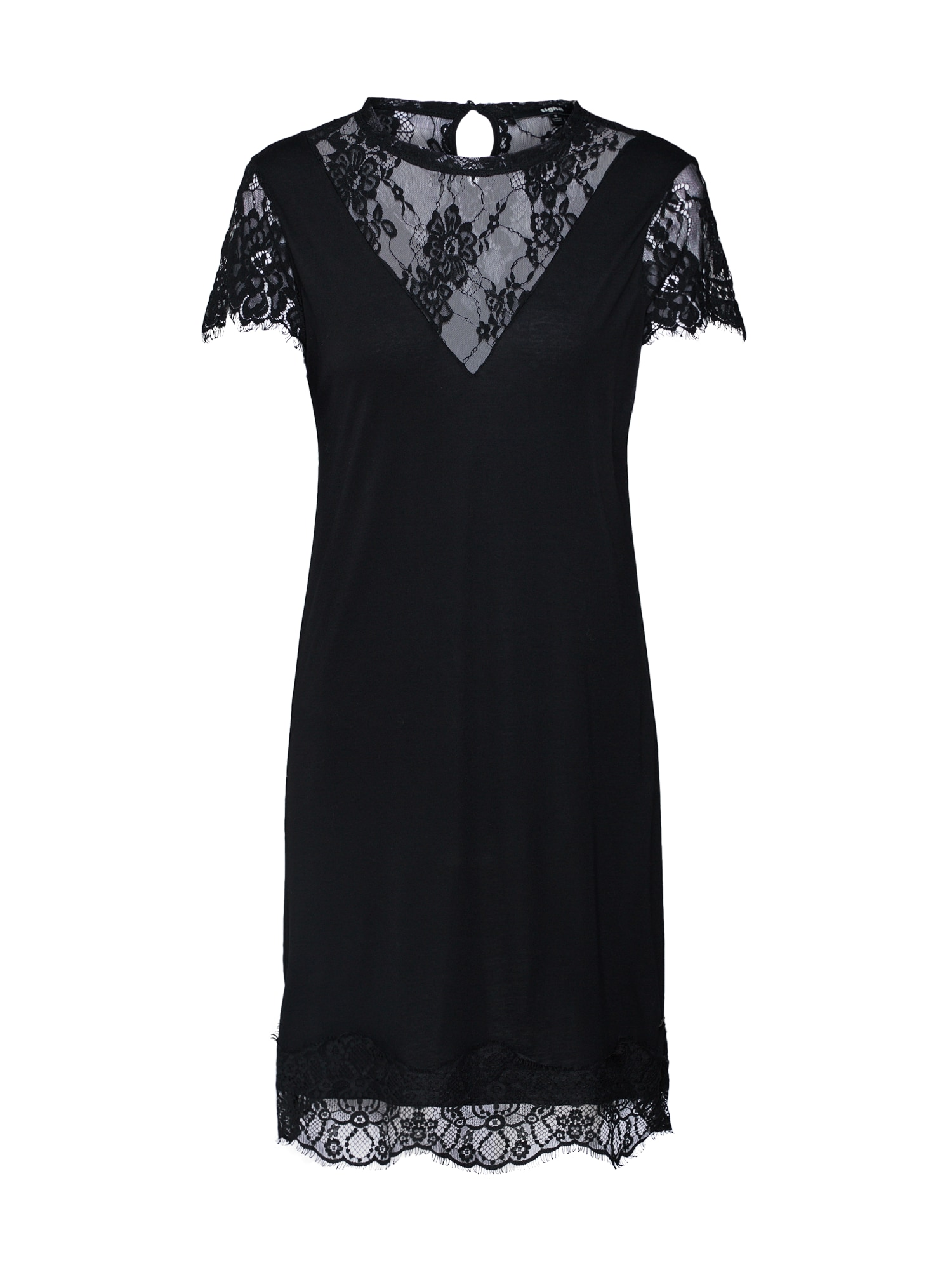 Koktejlové šaty Nalia černá Tigha