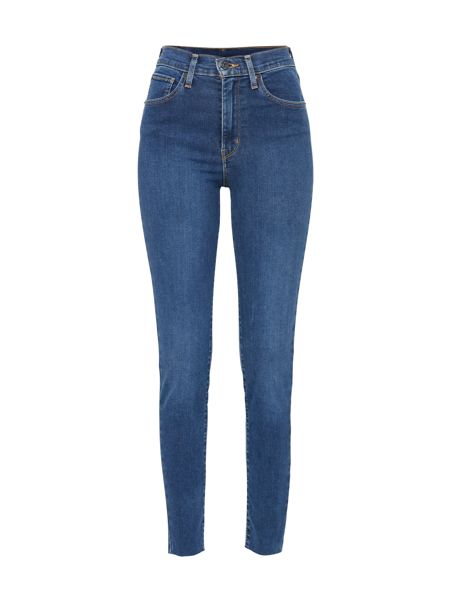 LEVI'S Dames Jeans MILE HIGH donkerblauw
