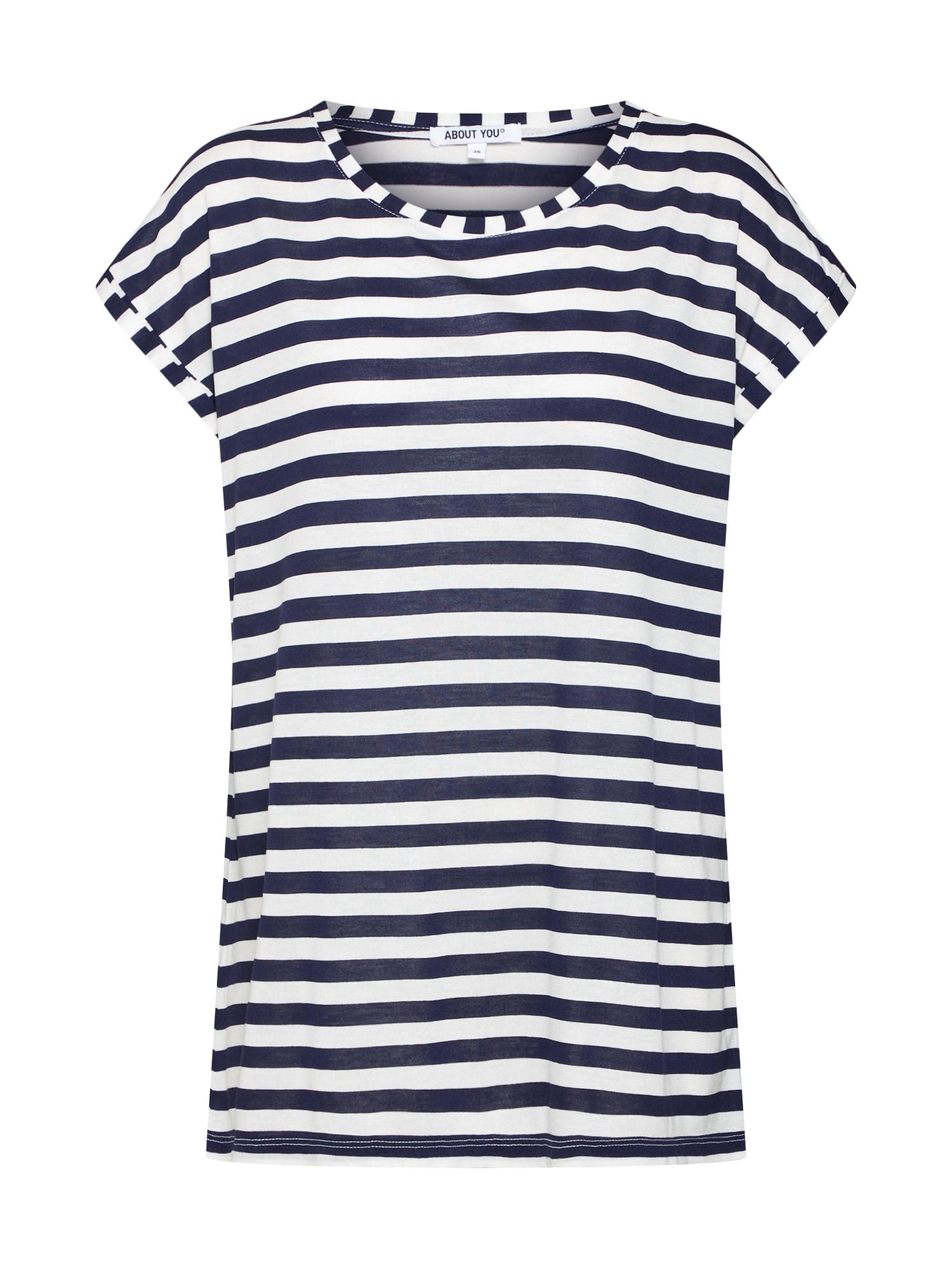 Tričko Alicia námořnická modř bílá ABOUT YOU