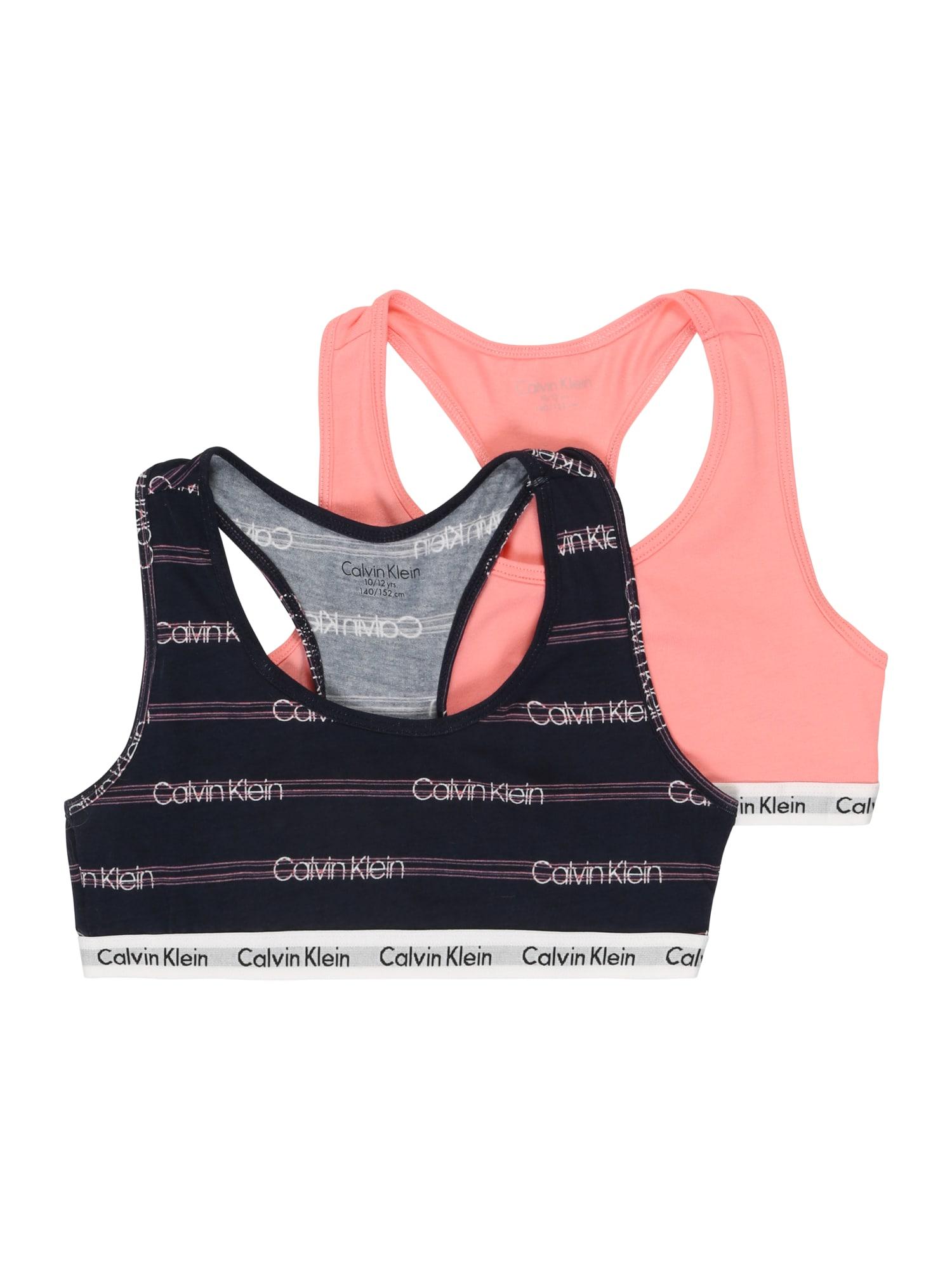 Calvin Klein Underwear Podprsenka  pink / černá