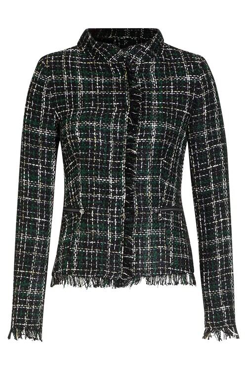 Tweed-Jäckchen mit...