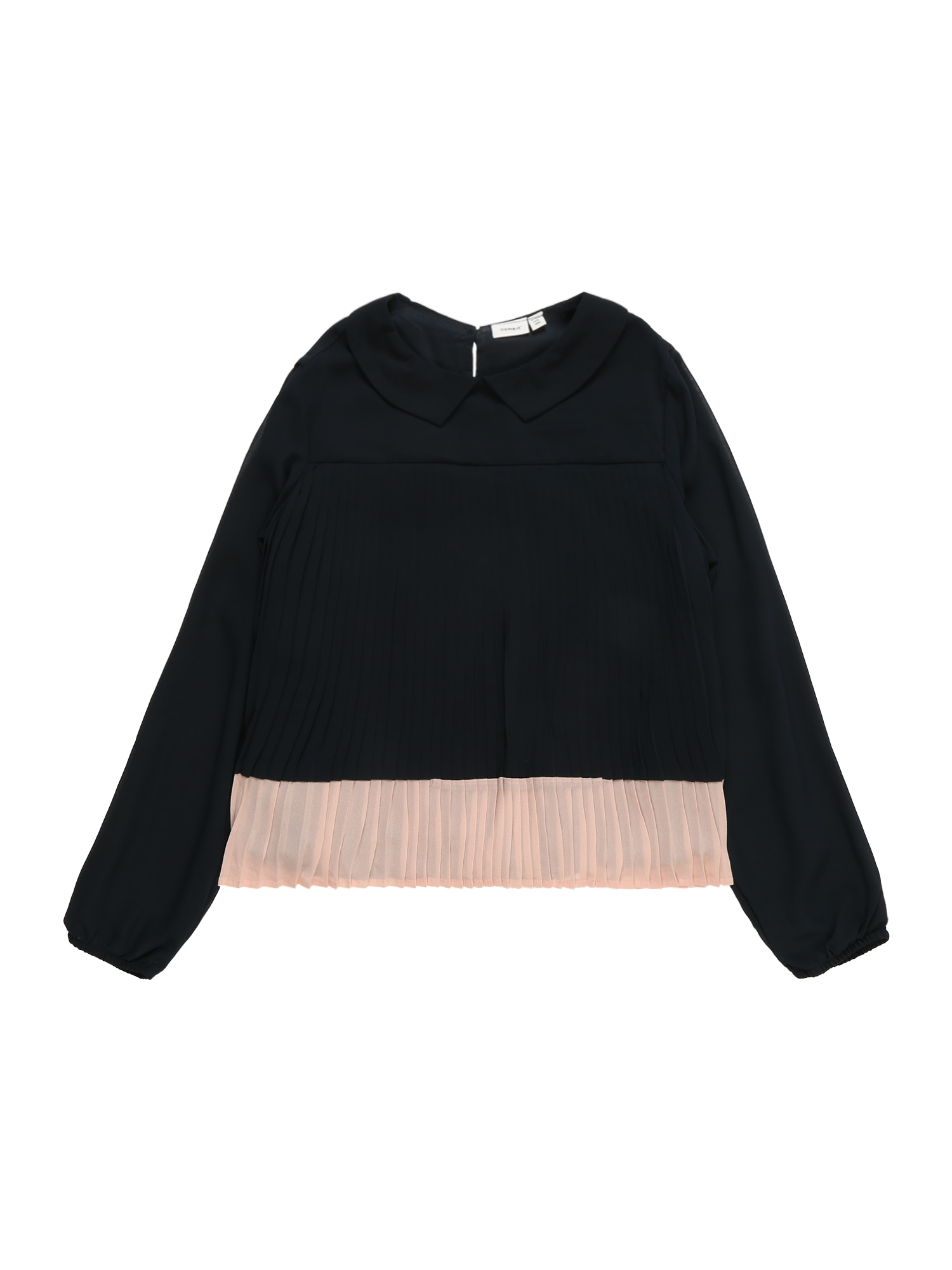 Halenka NKFRIMO PLEAT LS BLOUSE tmavě modrá NAME IT