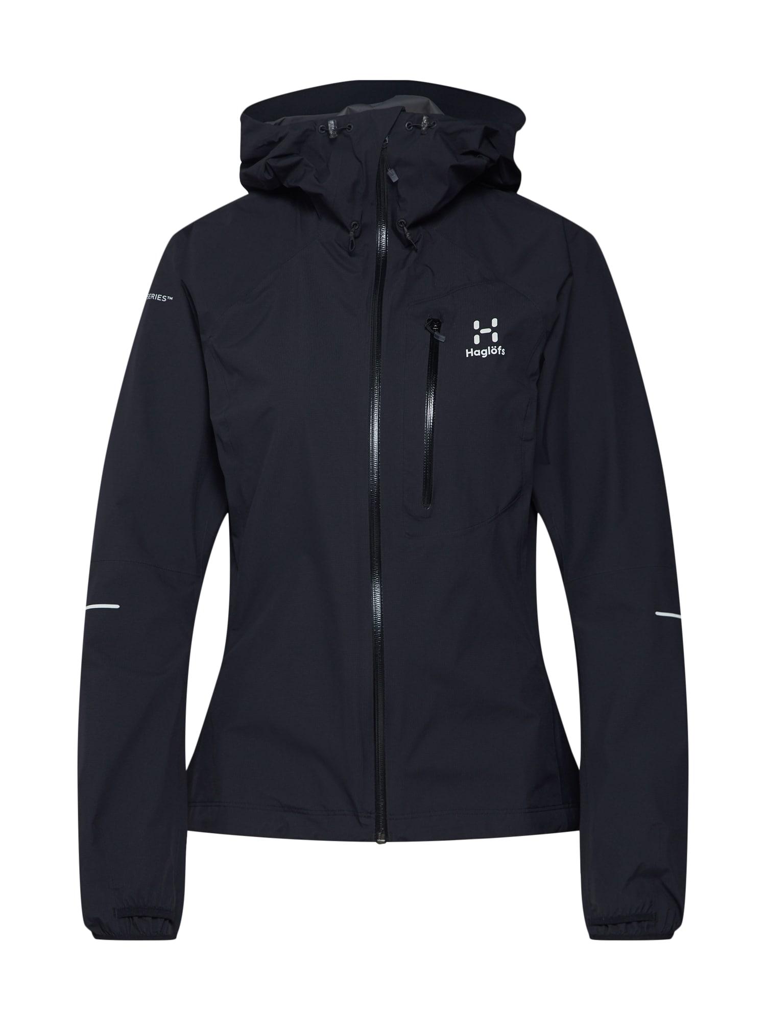 Sportovní bunda L.I.M černá Haglöfs