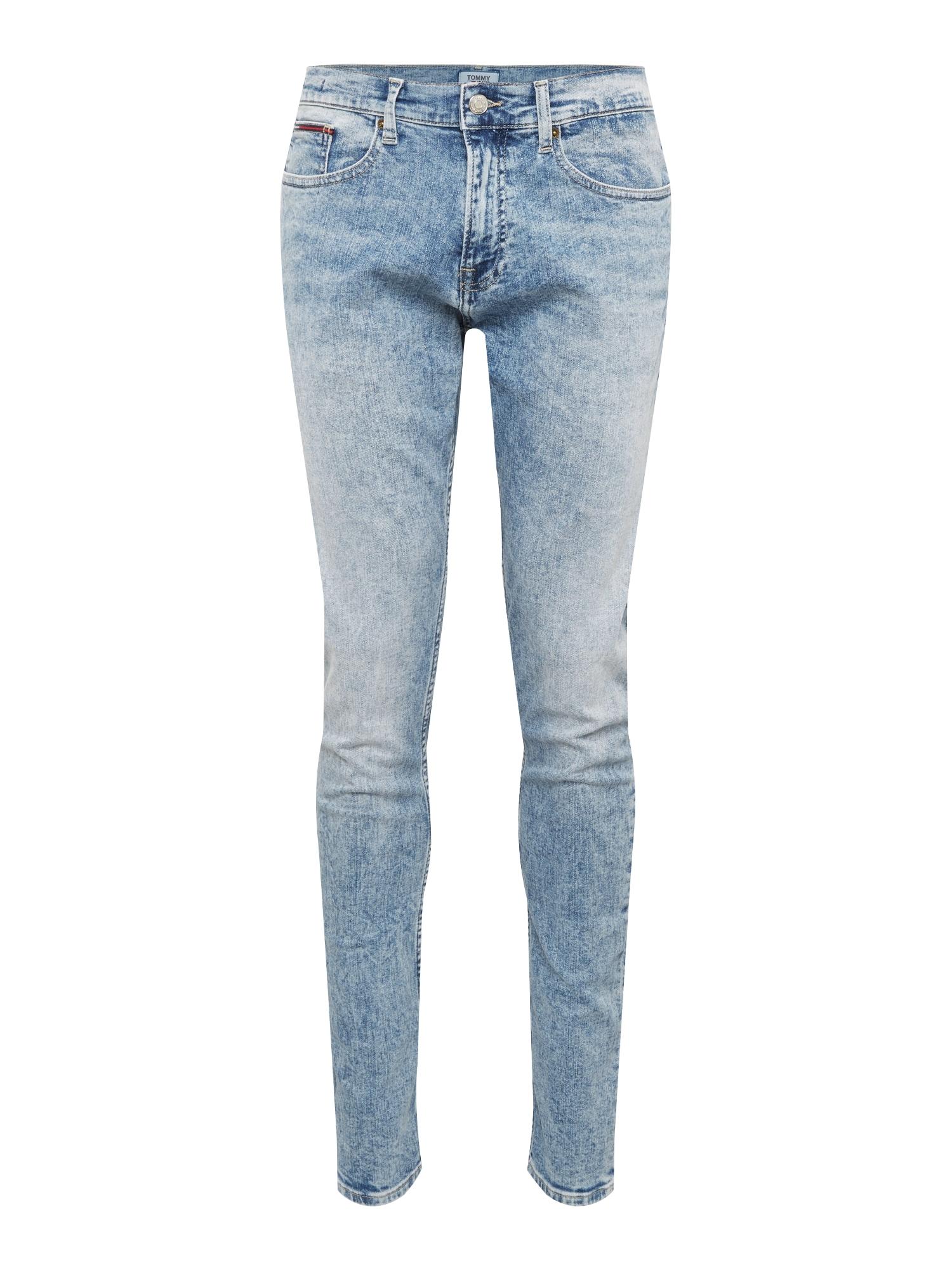 Džíny SLIM TAPERED STEVE modrá džínovina Tommy Jeans