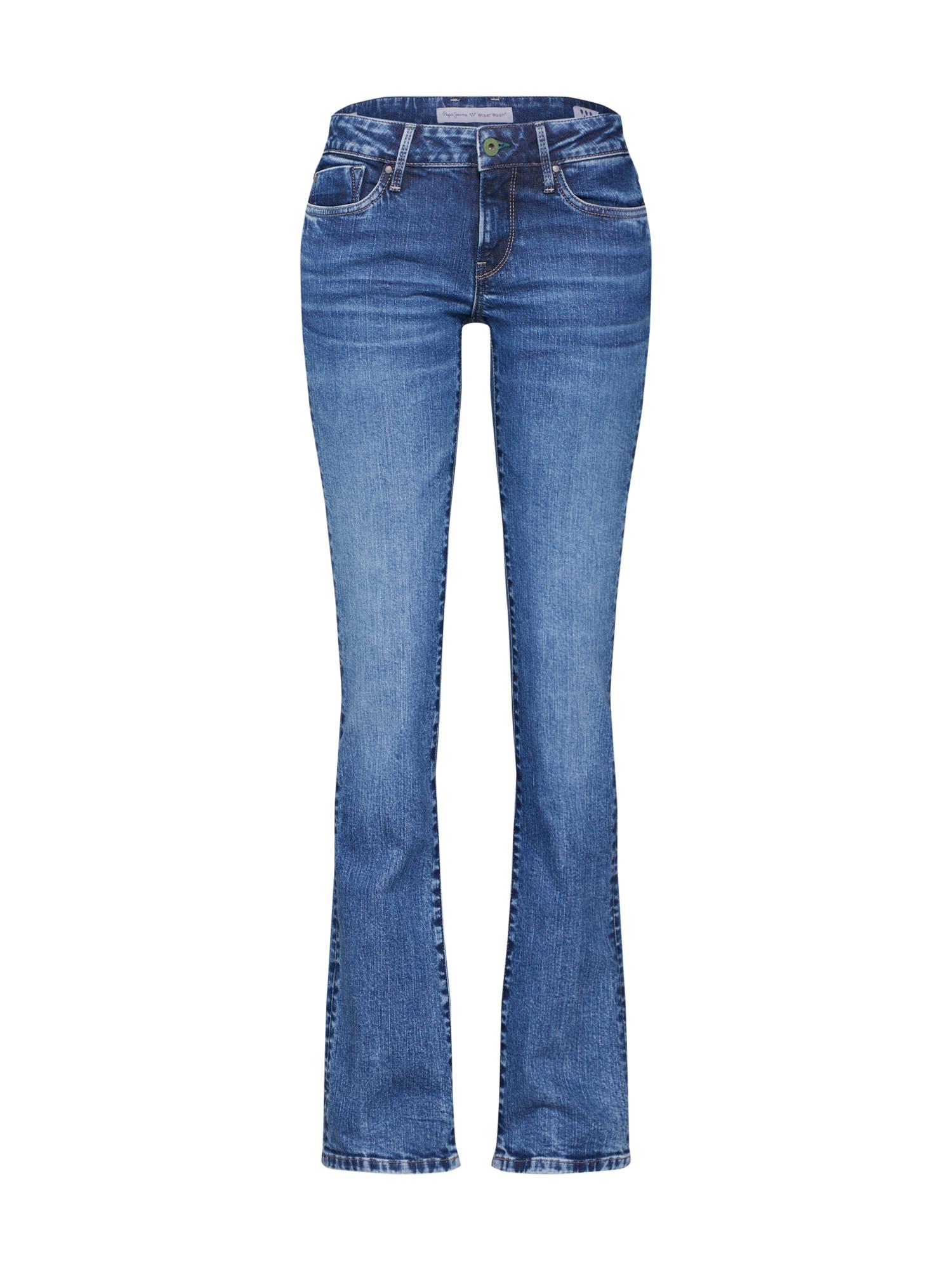 Džíny Piccadilly modrá džínovina Pepe Jeans