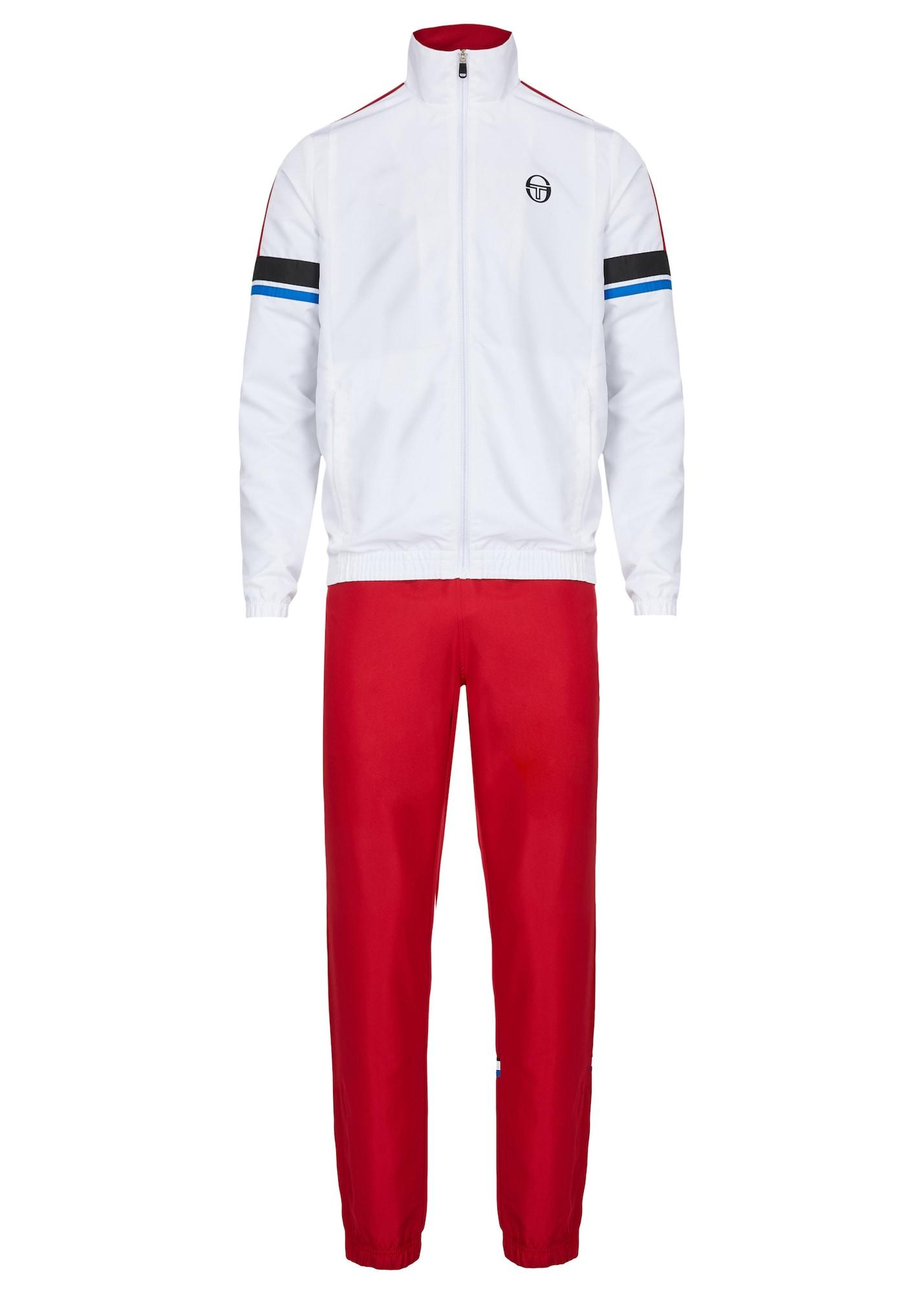 Trainingsanzug | Sportbekleidung > Sportanzüge > Trainingsanzüge | Blau - Rot - Schwarz - Weiß | Sergio Tacchini