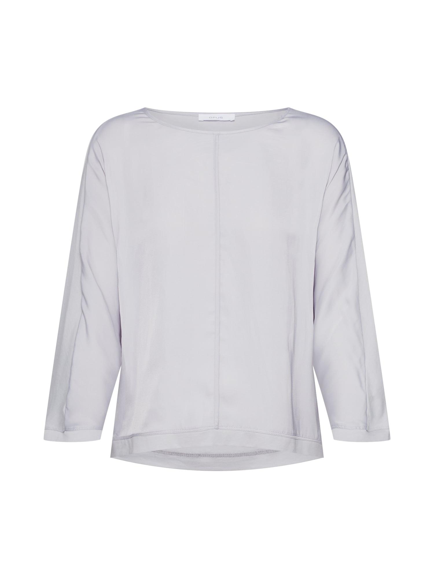OPUS Tričko 'Sobeke'  tmavosivá / sivá melírovaná / čierna