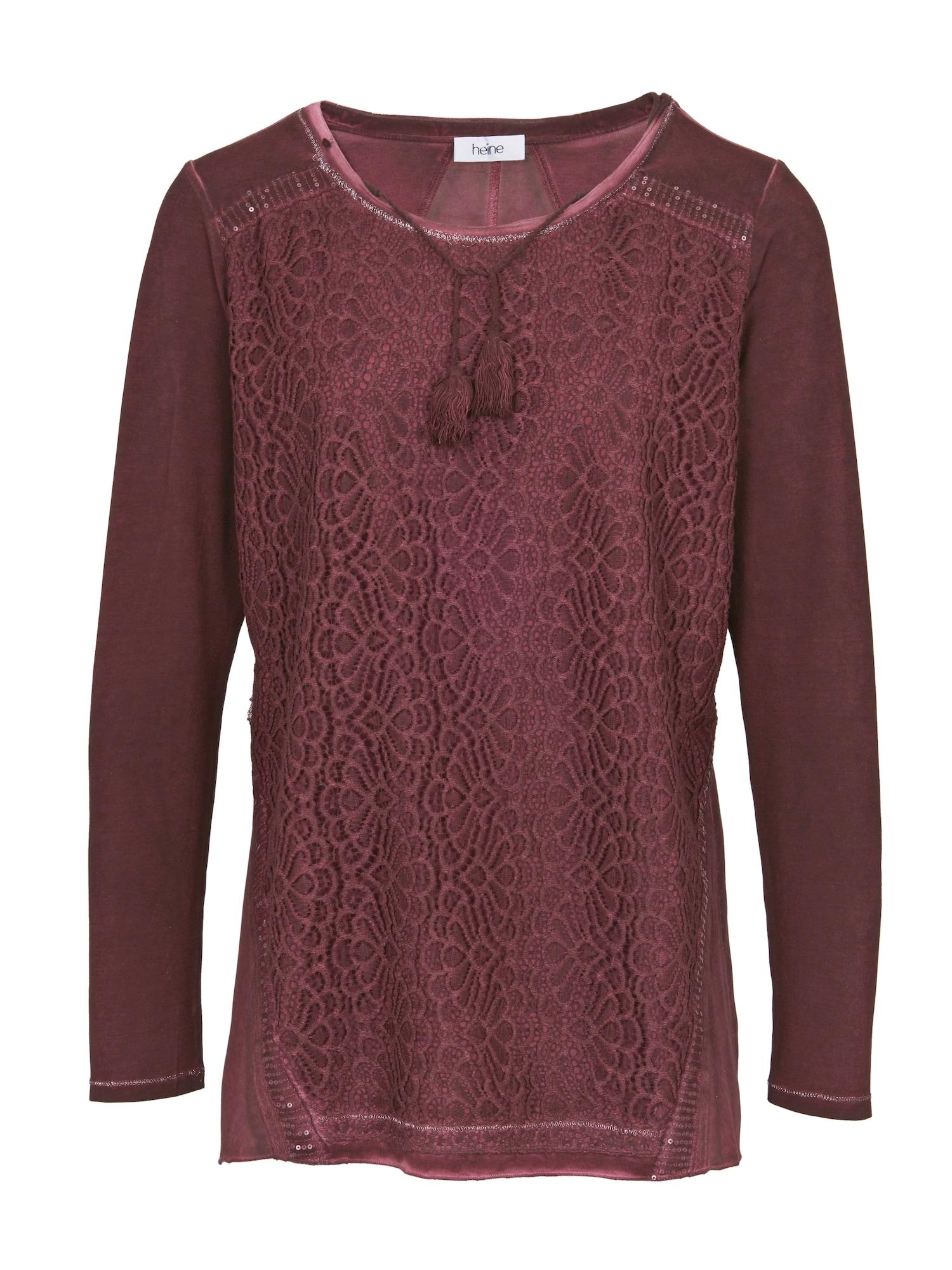 Rundhalsshirt   Bekleidung > Shirts > Rundhalsshirts   heine