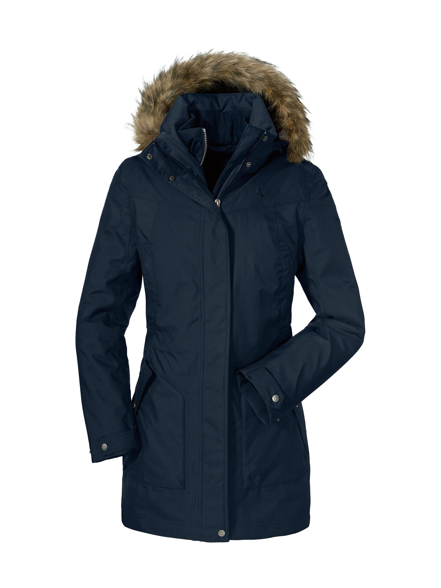 Outdoorový kabát 3in1 Jacket Genova2 tmavě modrá Schöffel