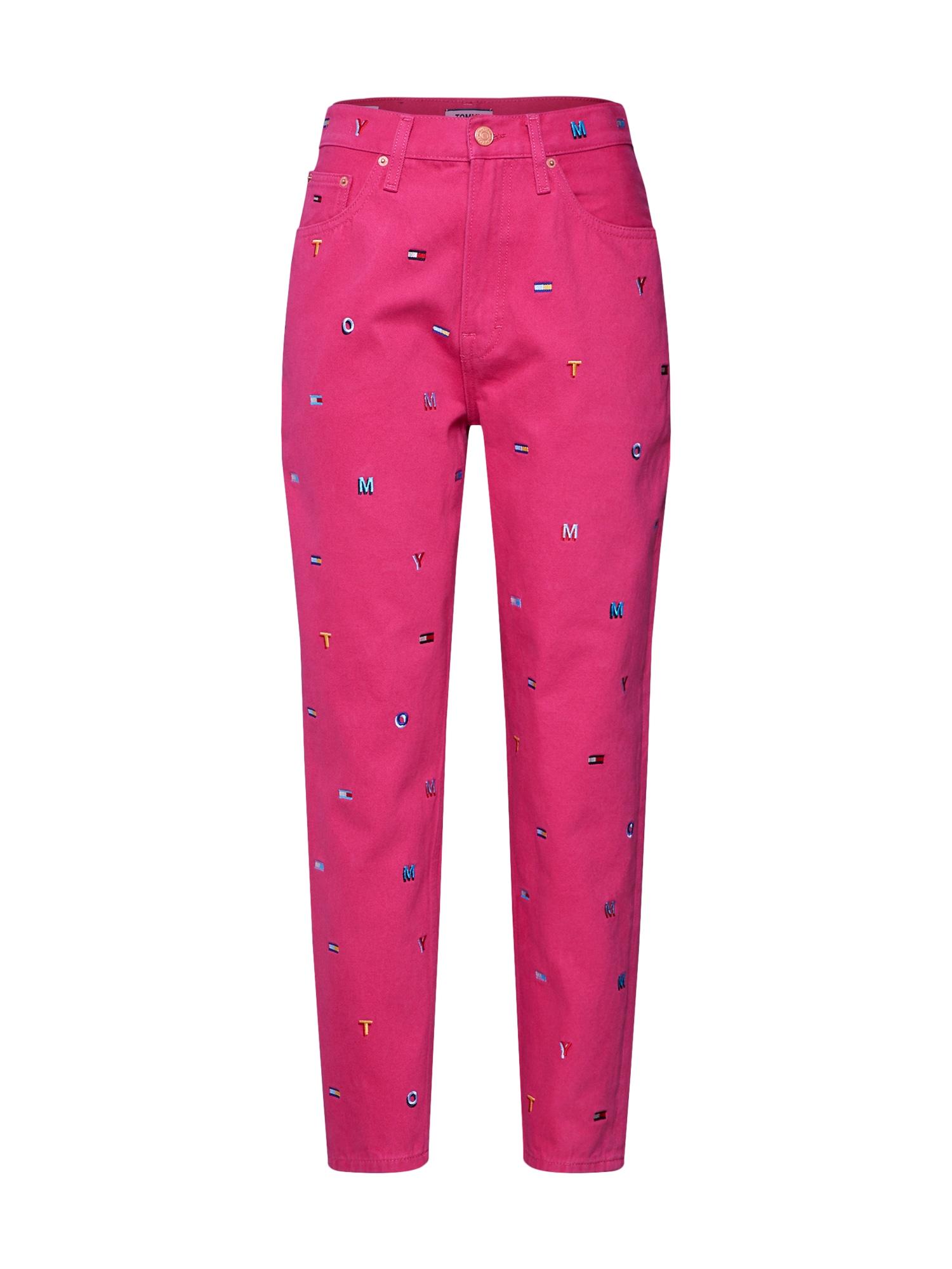 Džíny HIGH RISE TAPERED TJ 2004 GRTFR pink Tommy Jeans
