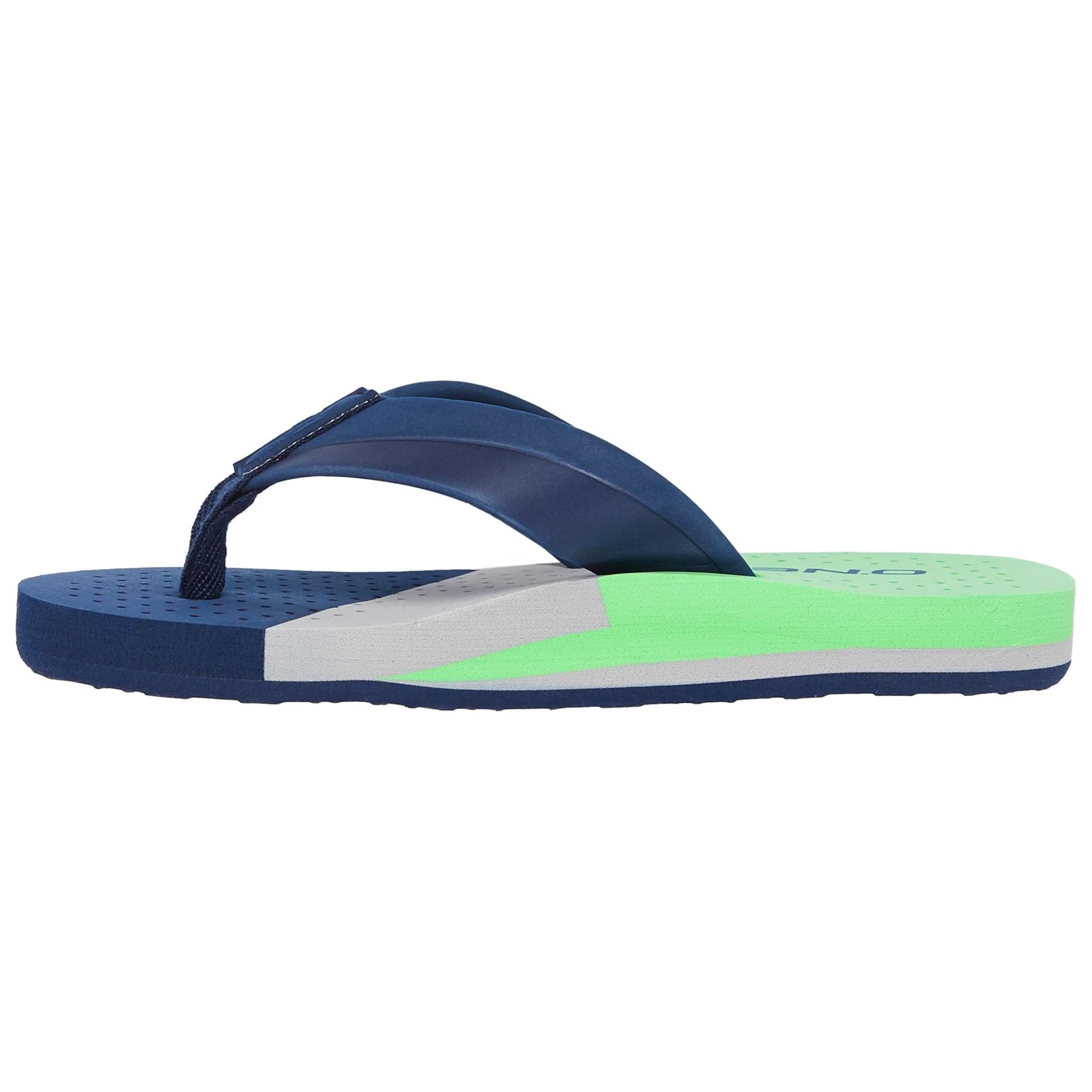 ONEILL Otevřená obuv FB IMPRINT PUNCH SANDALS modrá zelená O'NEILL
