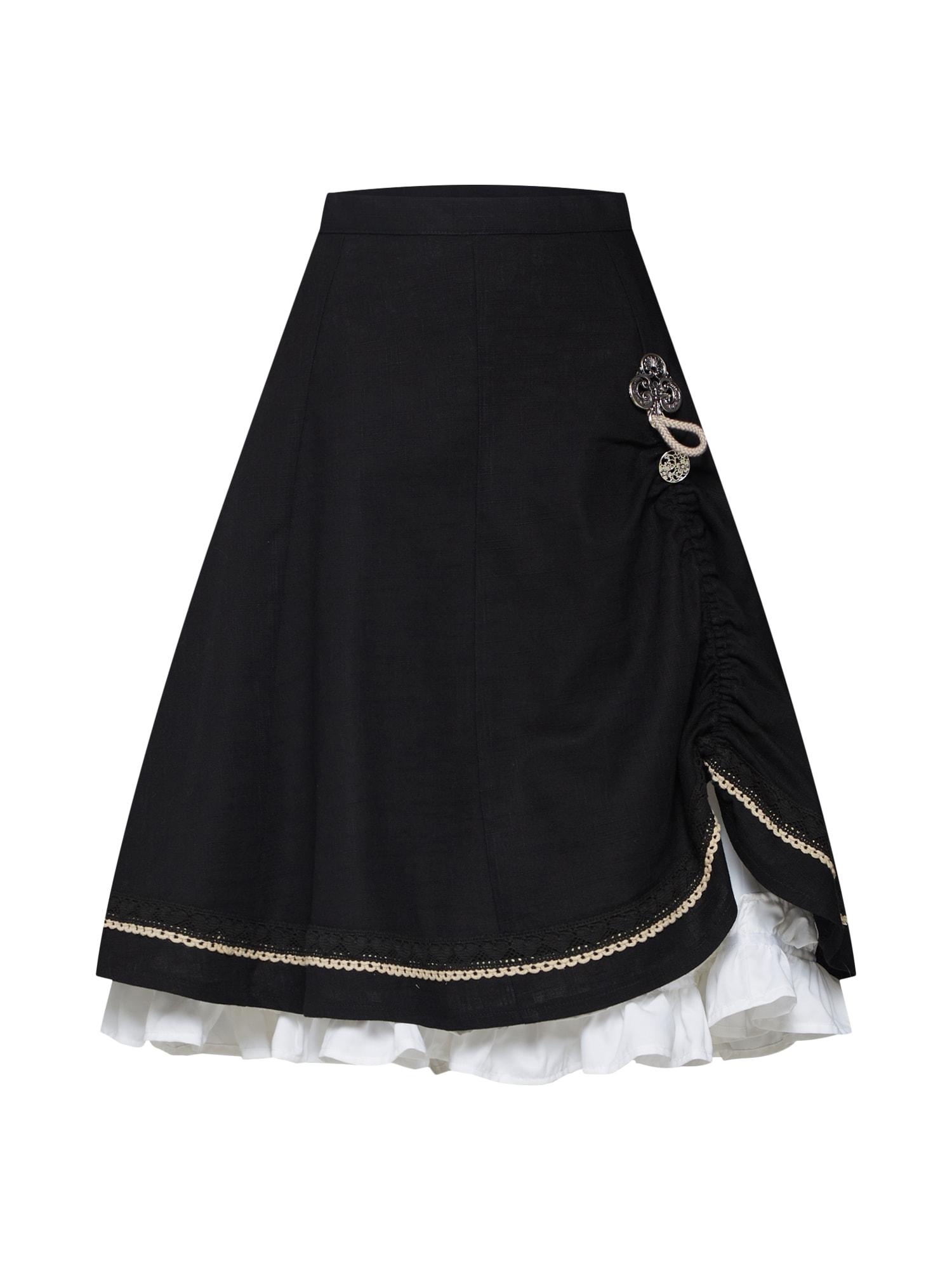 Krojová sukně Esther-Marie černá MARJO
