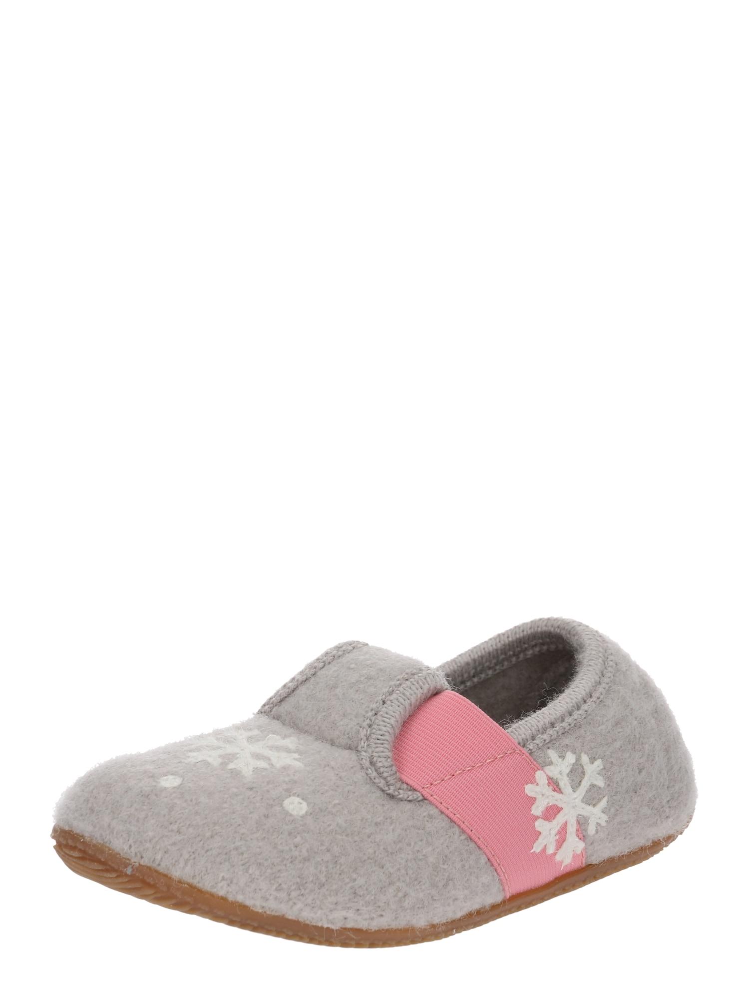 Pantofle 3623-619 béžová růžová Living Kitzbühel