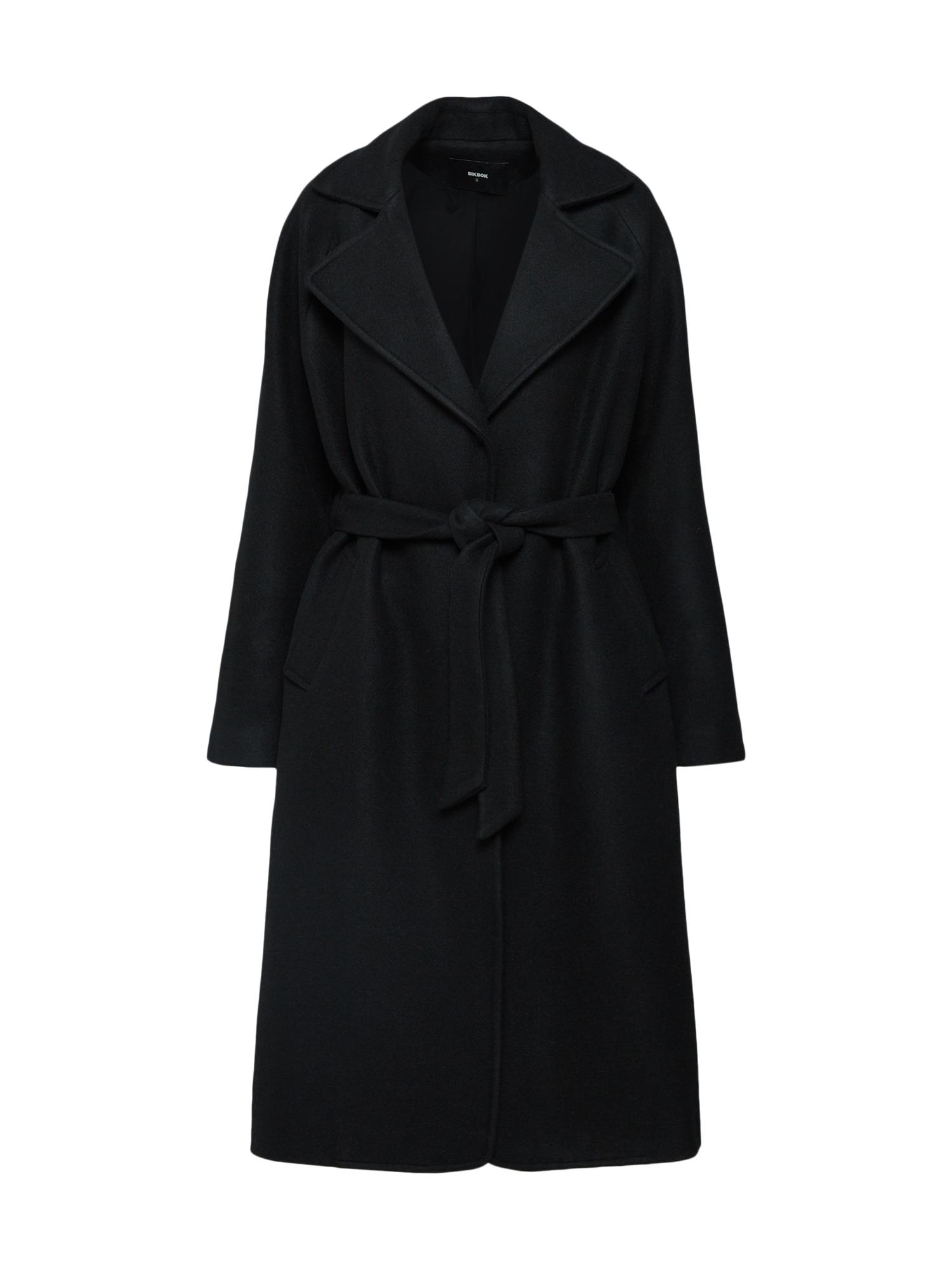 Přechodný kabát černá Bik Bok