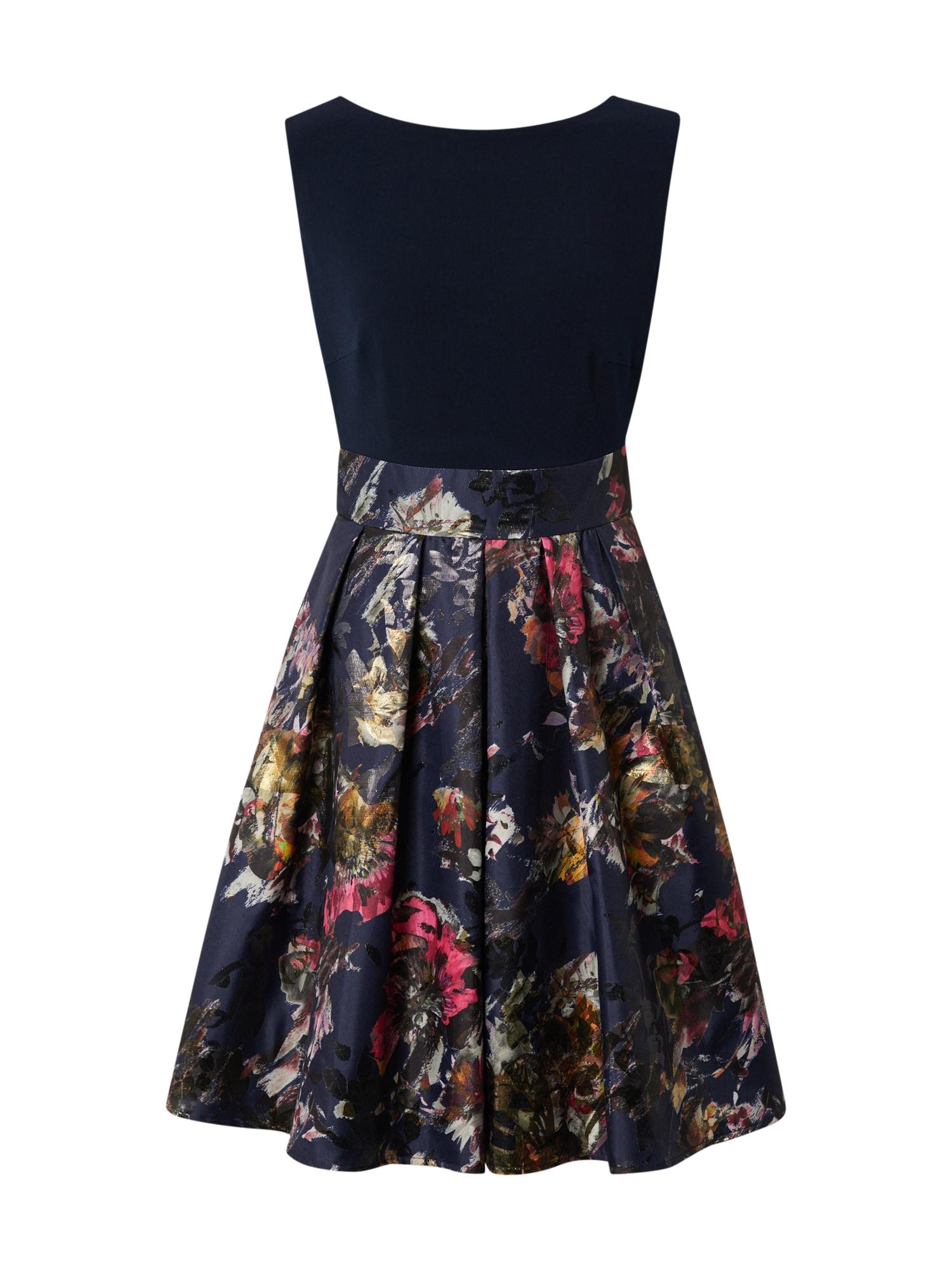 SWING Sukienka koktajlowa  mieszane kolory / czarny / ciemny niebieski
