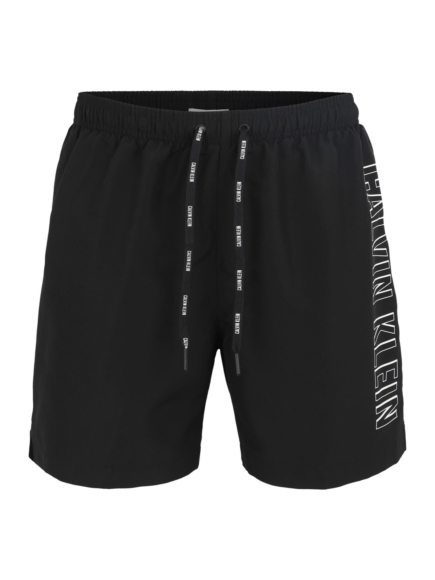 Plavecké šortky černá Calvin Klein Swimwear