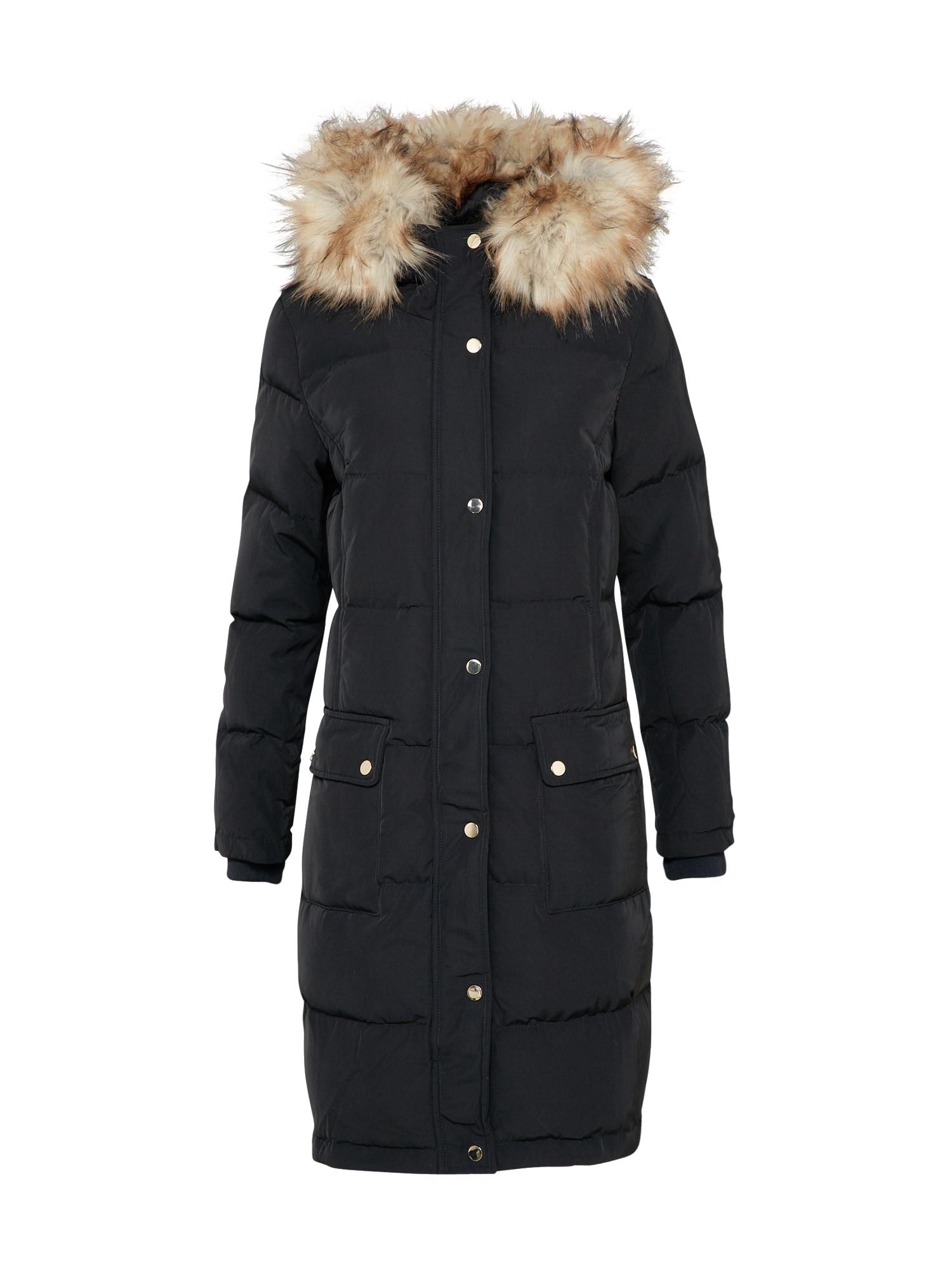 Zimní kabát Vicalifornia černá VILA
