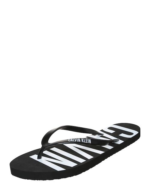 Zehentrenner-Sandale im Logo-Design