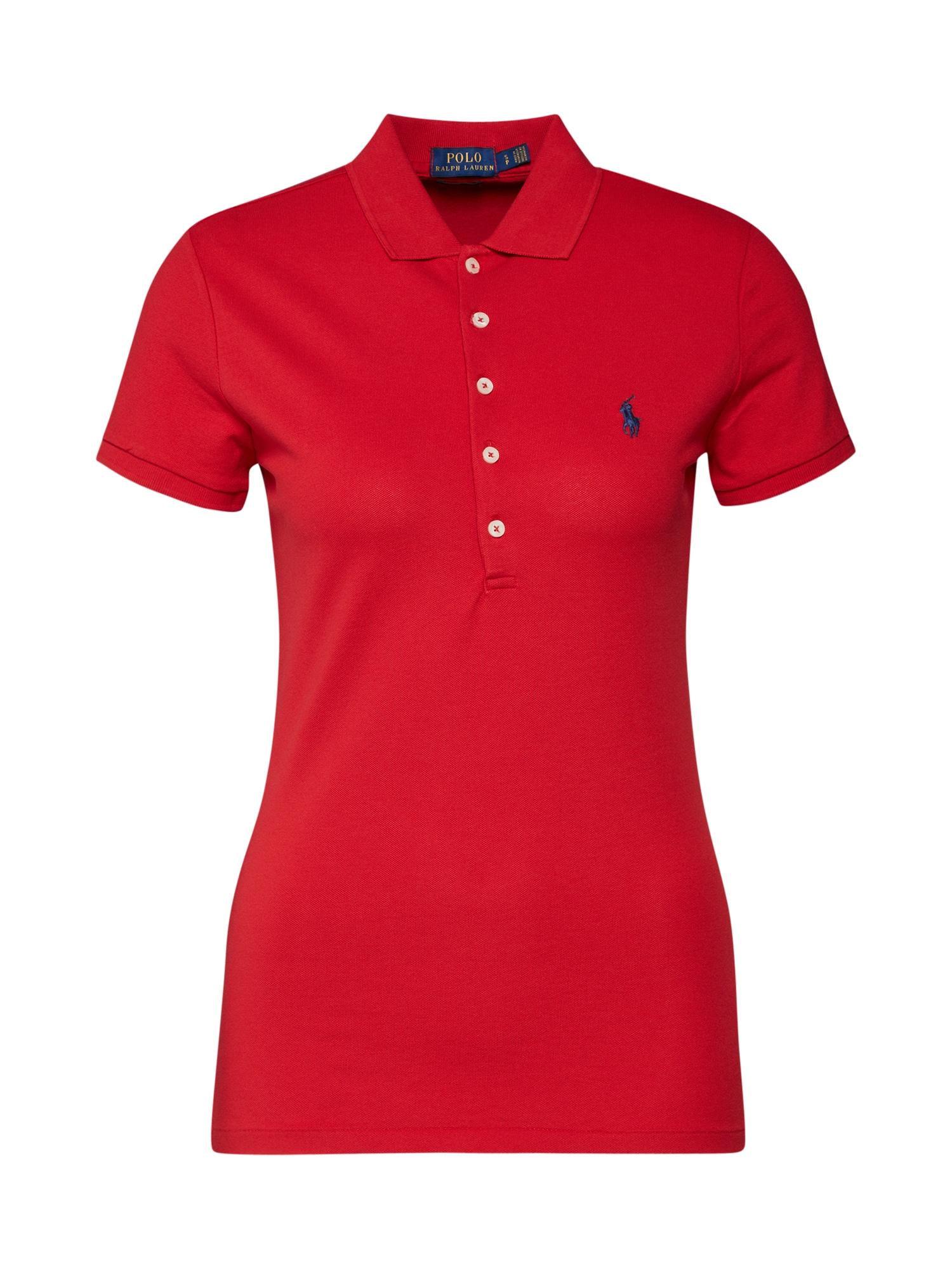 Tričko JULIE červená POLO RALPH LAUREN