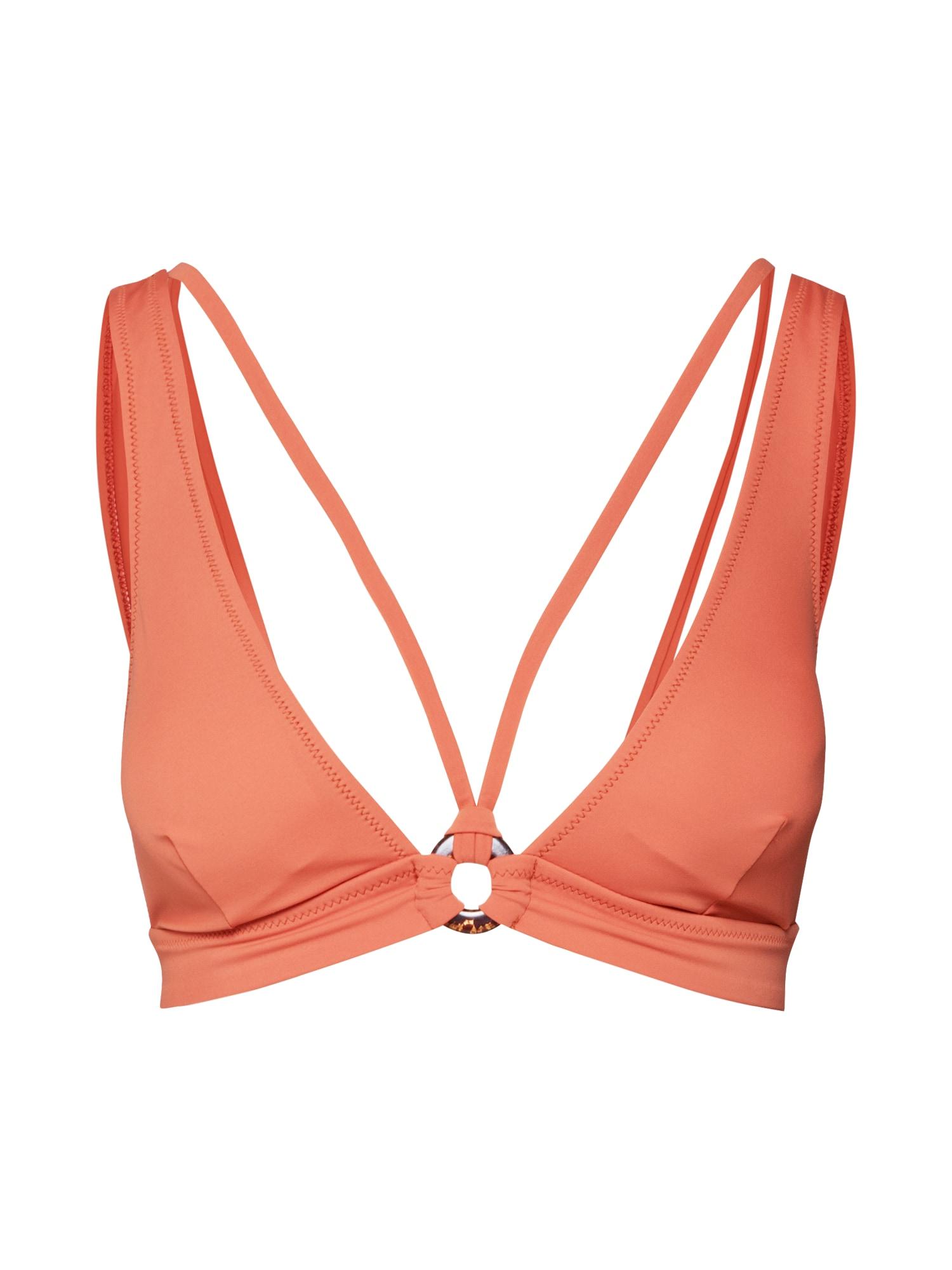 ABOUT YOU, Dames Bikinitop 'Lynn', sinaasappel