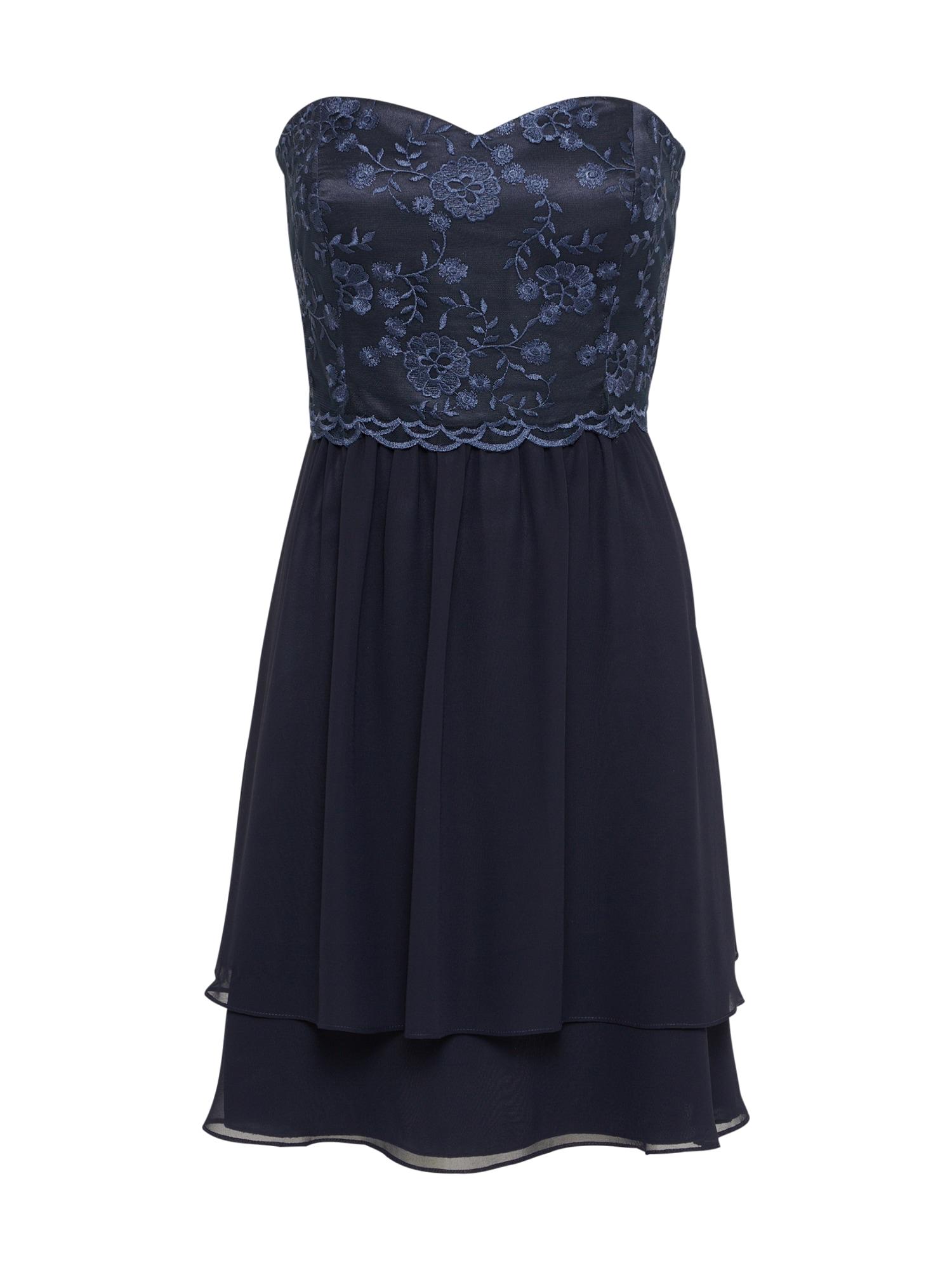 Bandeau Kleid | Bekleidung > Kleider > Bandeaukleider | Dunkelblau | VM Vera Mont