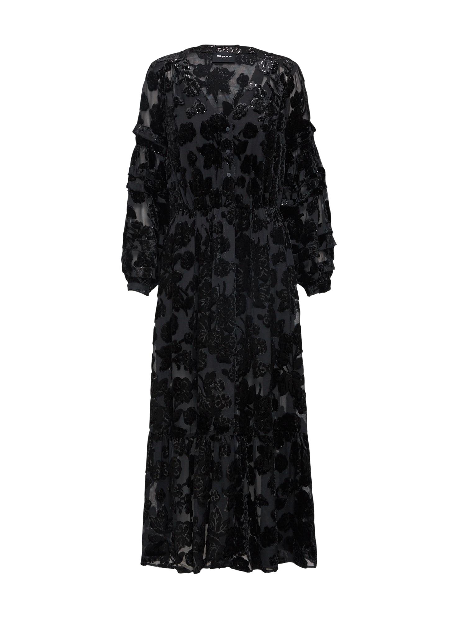 Šaty černá The Kooples