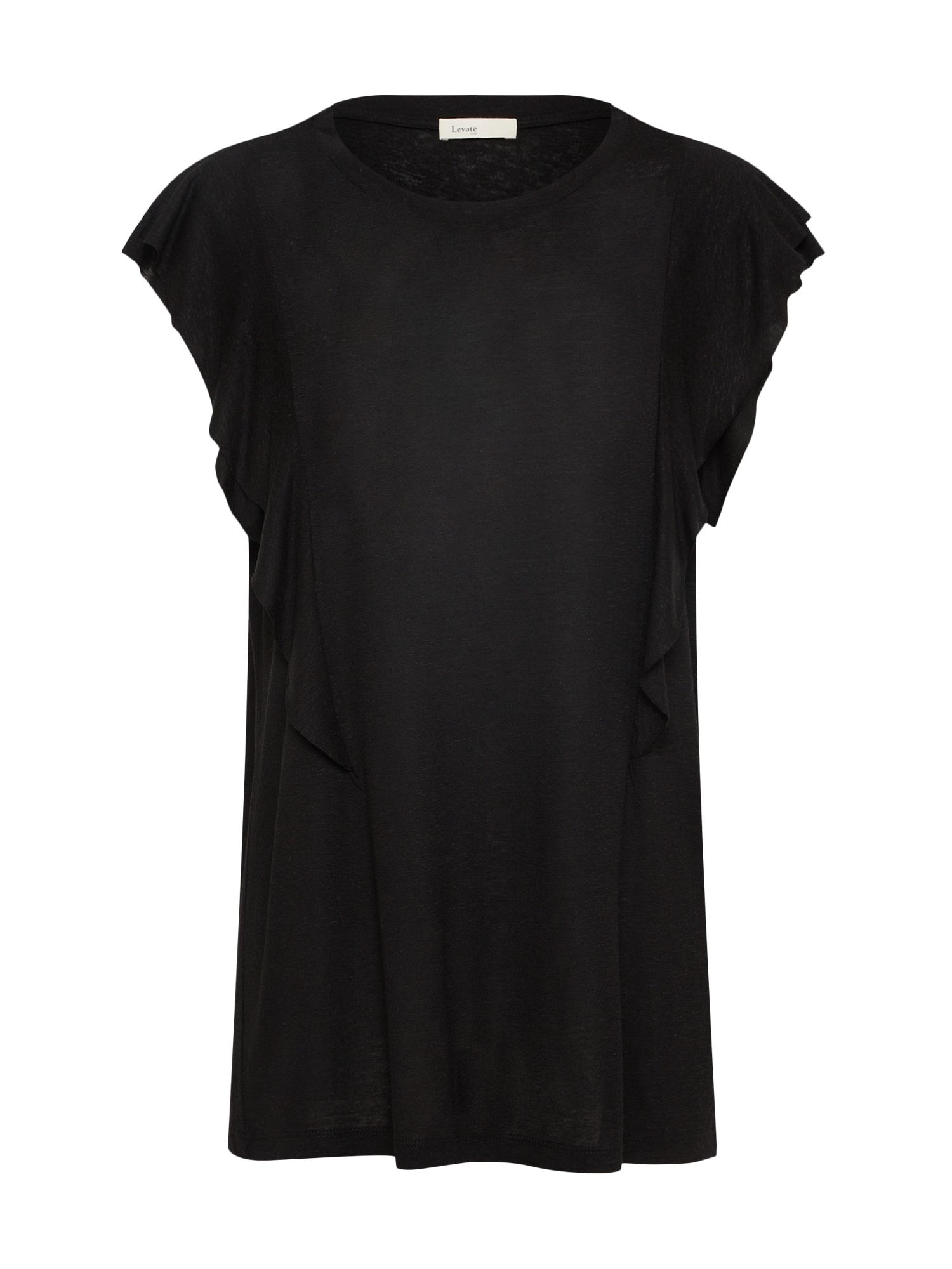 Tričko černá Levete Room