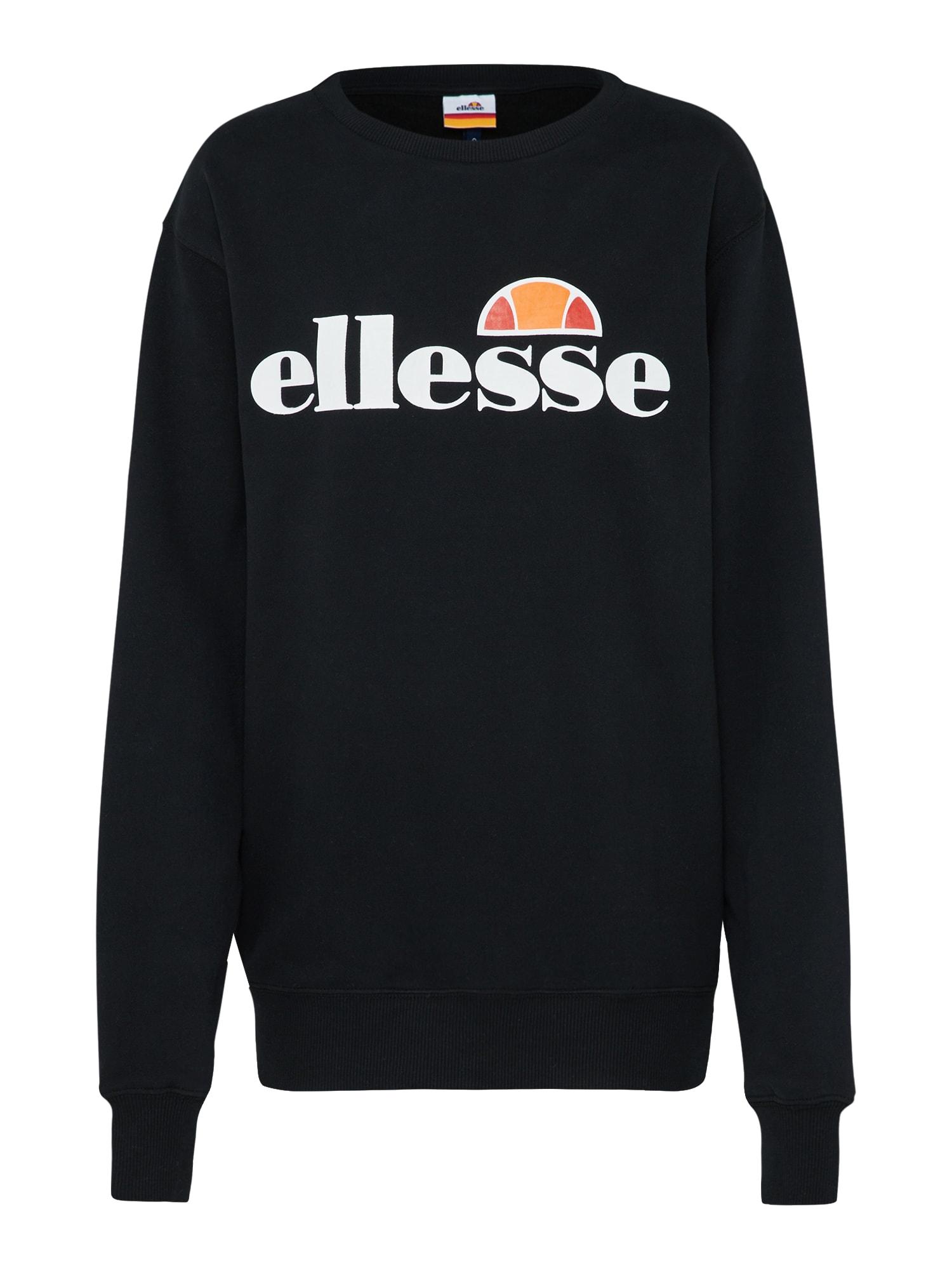 ELLESSE, Dames Sweatshirt 'Agata', zwart