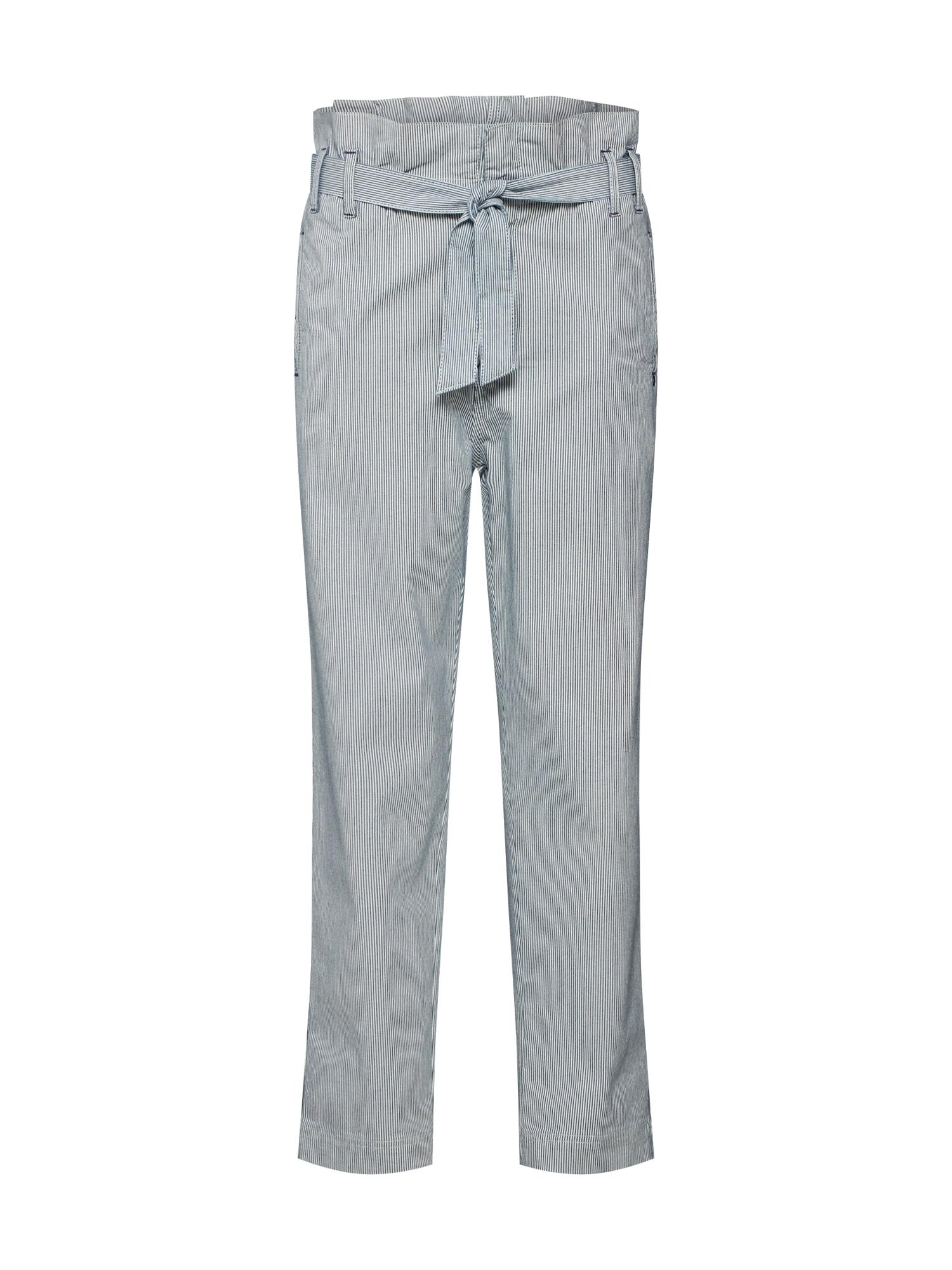 Kalhoty Sophia antracitová bílá Pepe Jeans