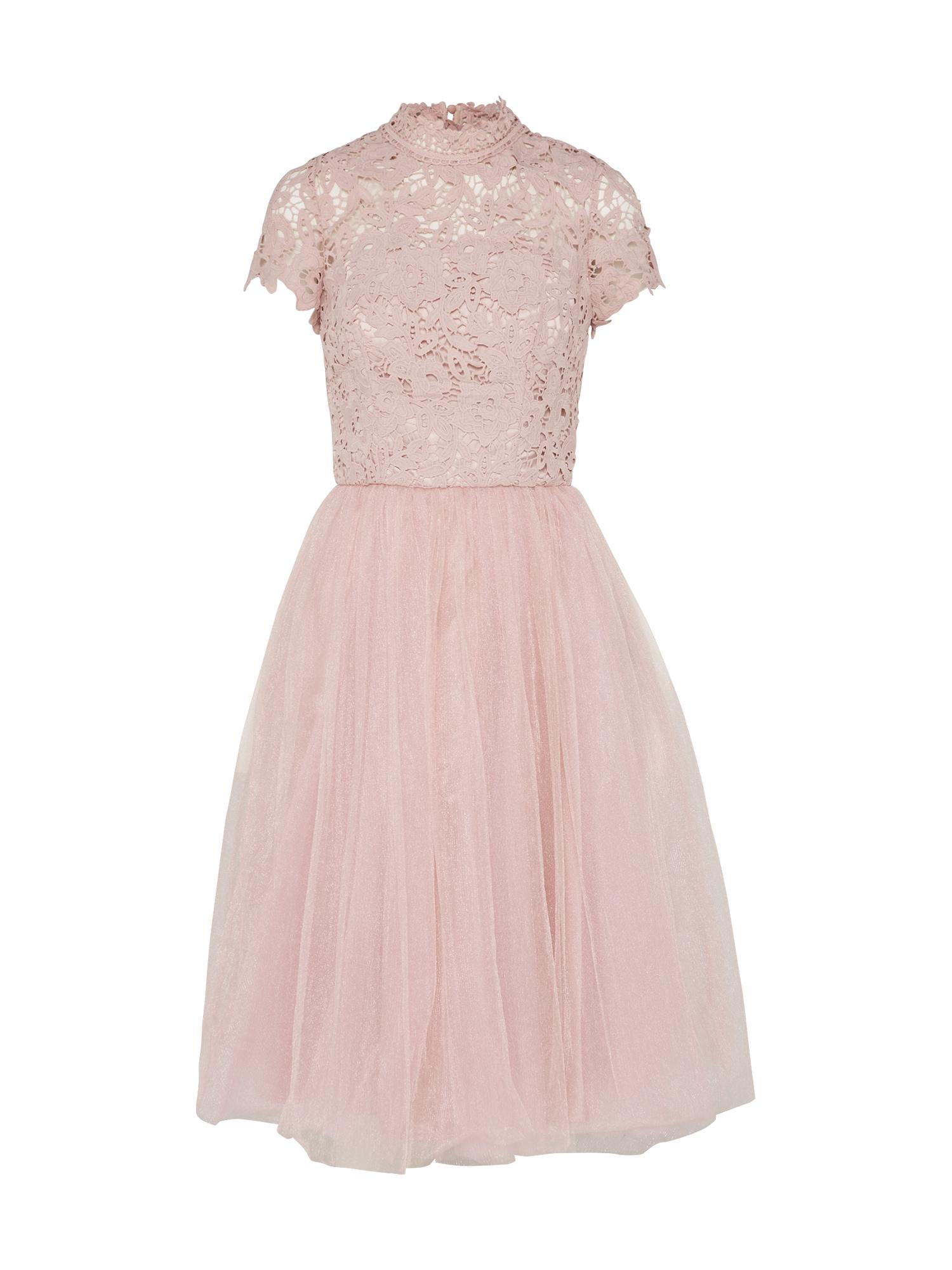 Koktejlové šaty BILLE růže Chi Chi London